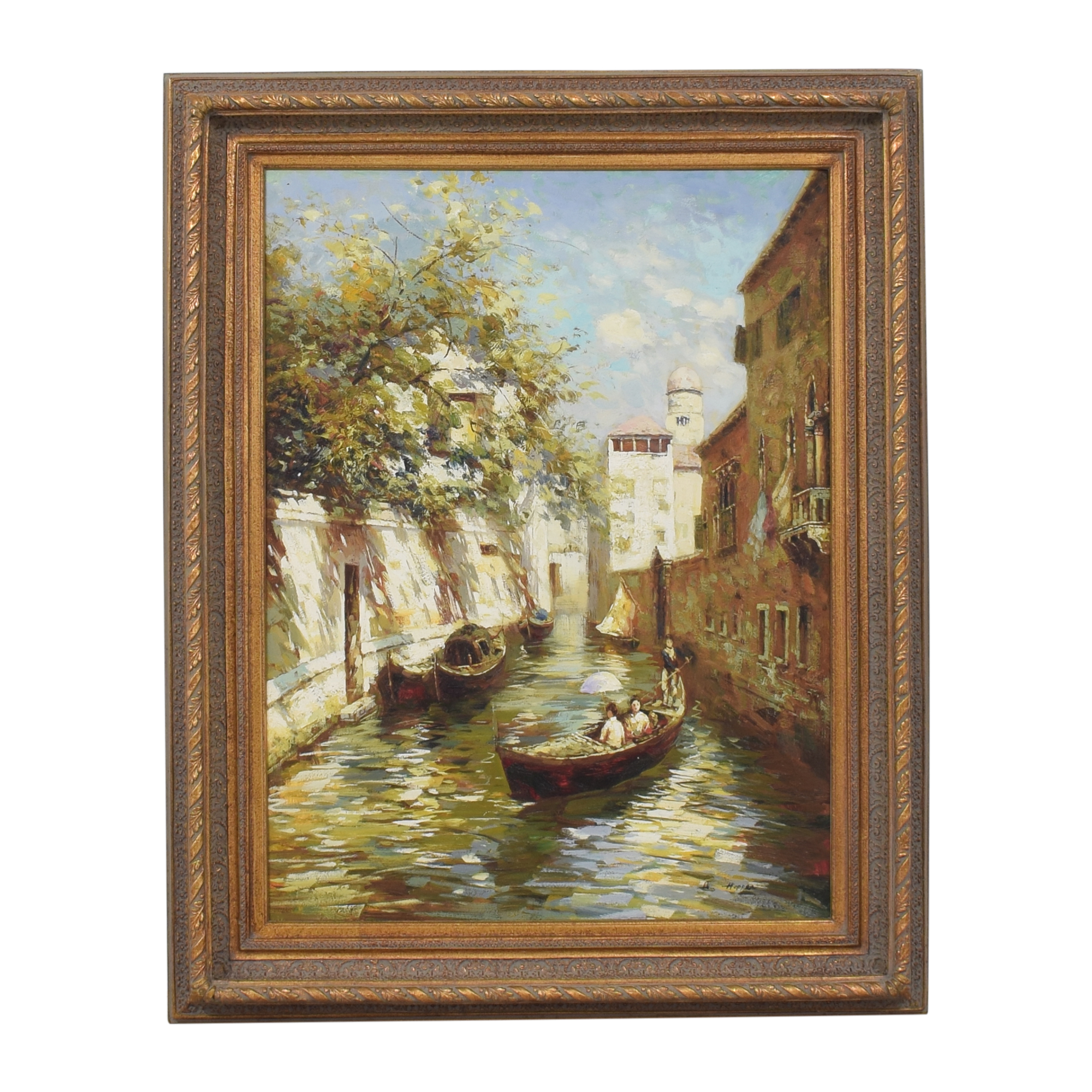 Canal Scenic Wall Art