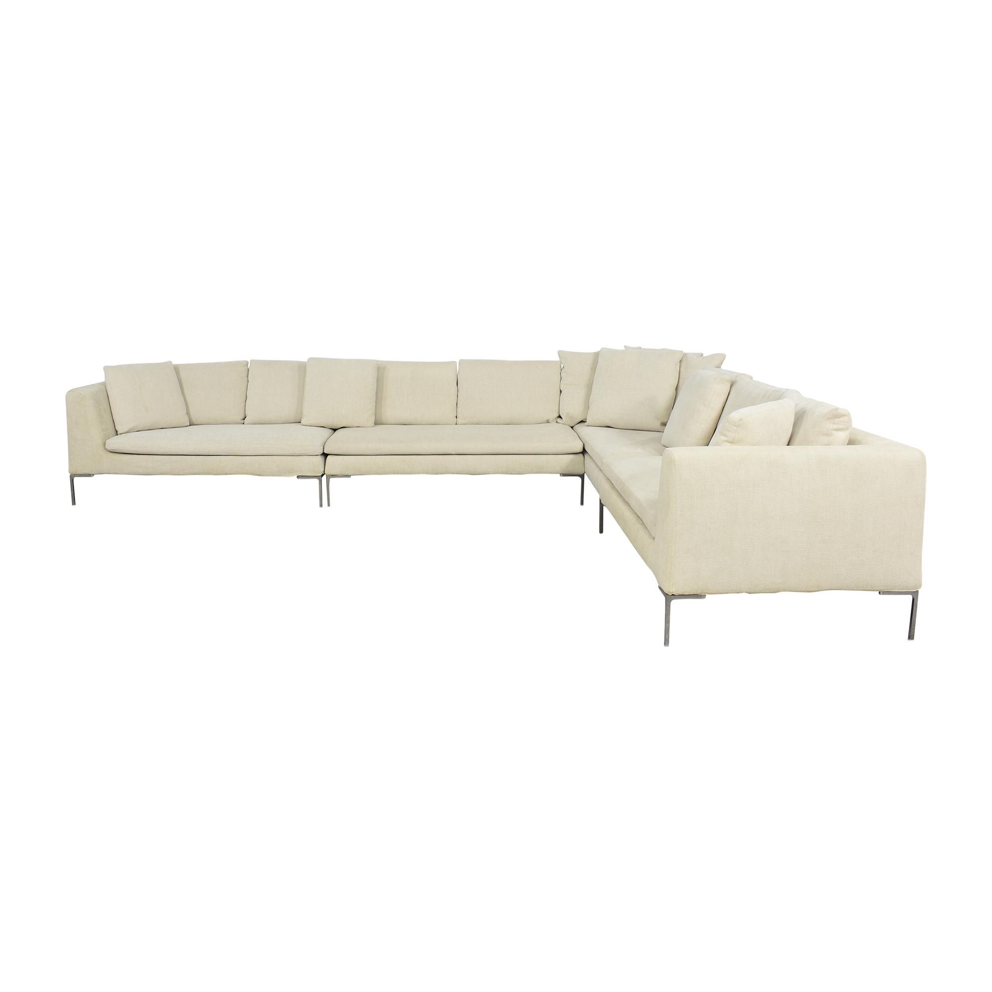 B&B Italia B&B Italia Charles Large Sectional Sofa