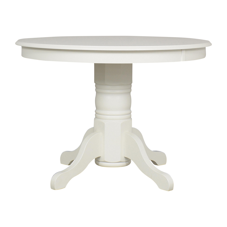 buy Wayfair Standridge Pedestal Dining Table Wayfair Tables