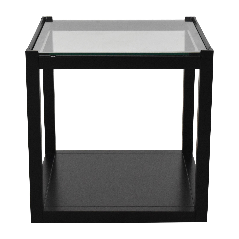 Crate & Barrel Crate & Barrel Mimic Cube End Table Tables