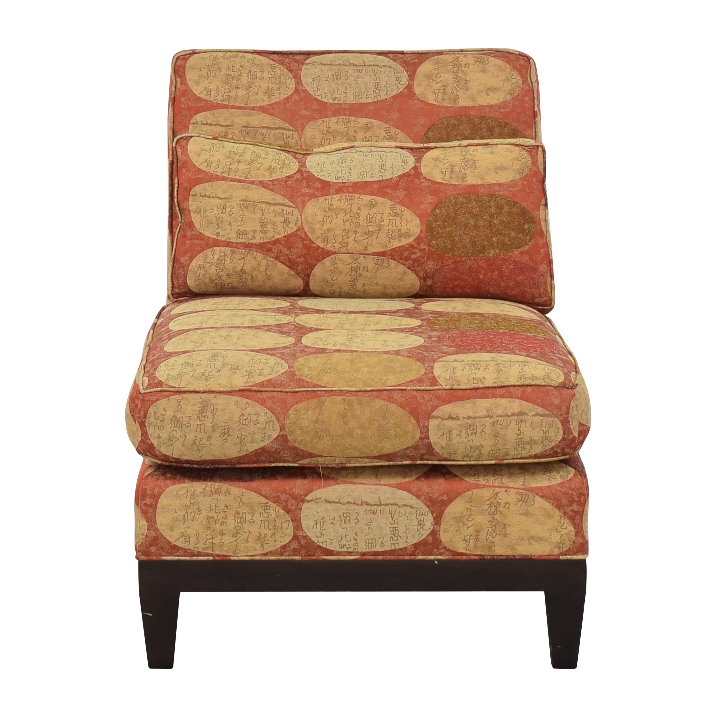 shop ABC Carpet & Home Slipper Chair ABC Carpet & Home Accent Chairs