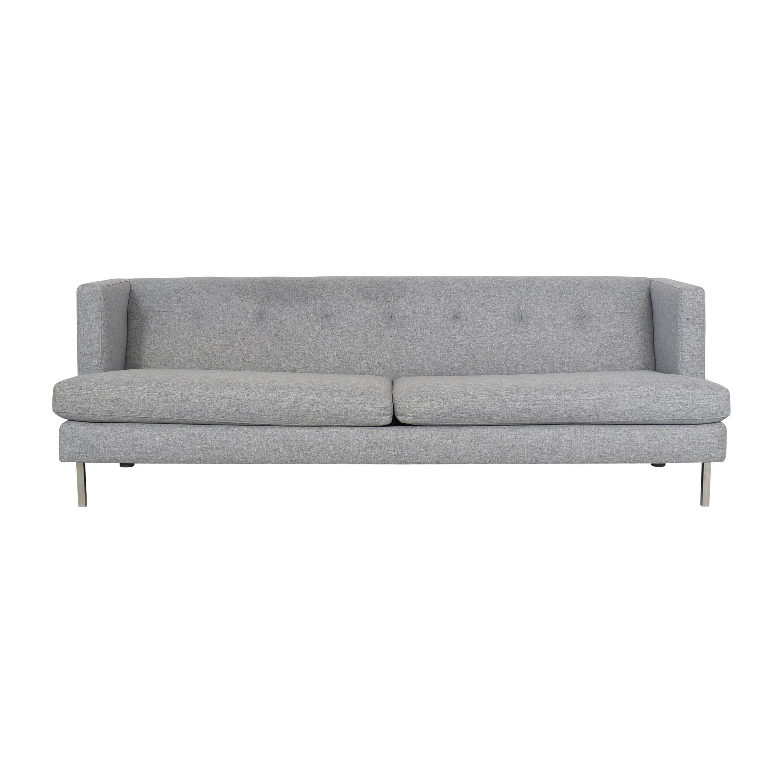 CB2 CB2 Avec Two Cushion Sofa dimensions