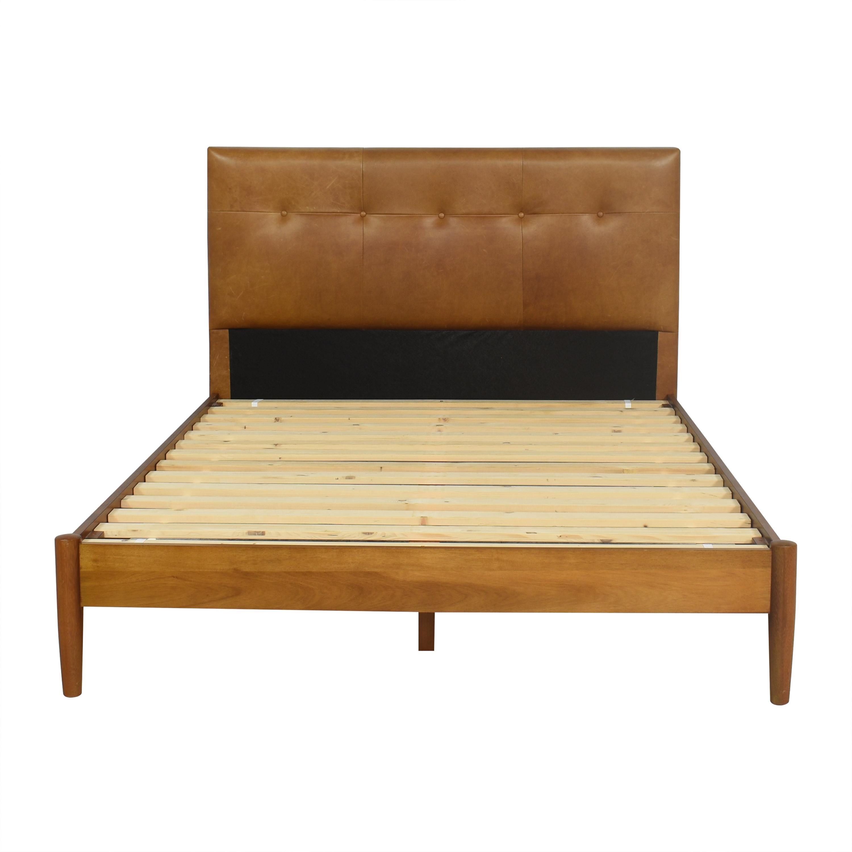 West Elm West Elm Mid-Century Button Tufted Queen Bed price