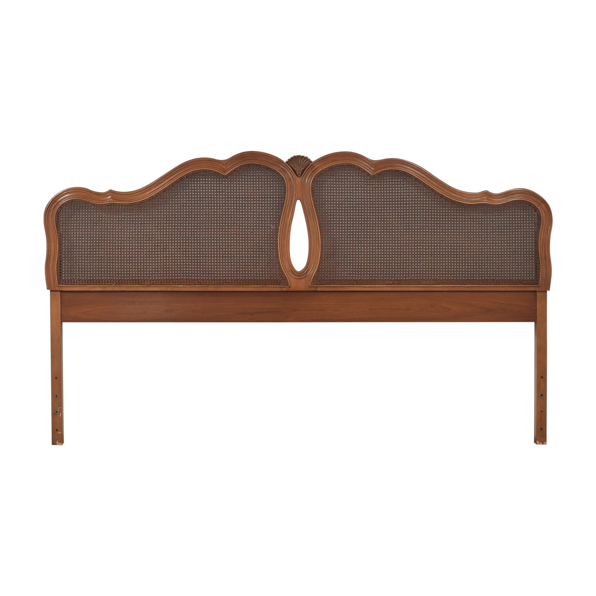 shop Broyhill Furniture French Provincial King Headboard Broyhill Furniture