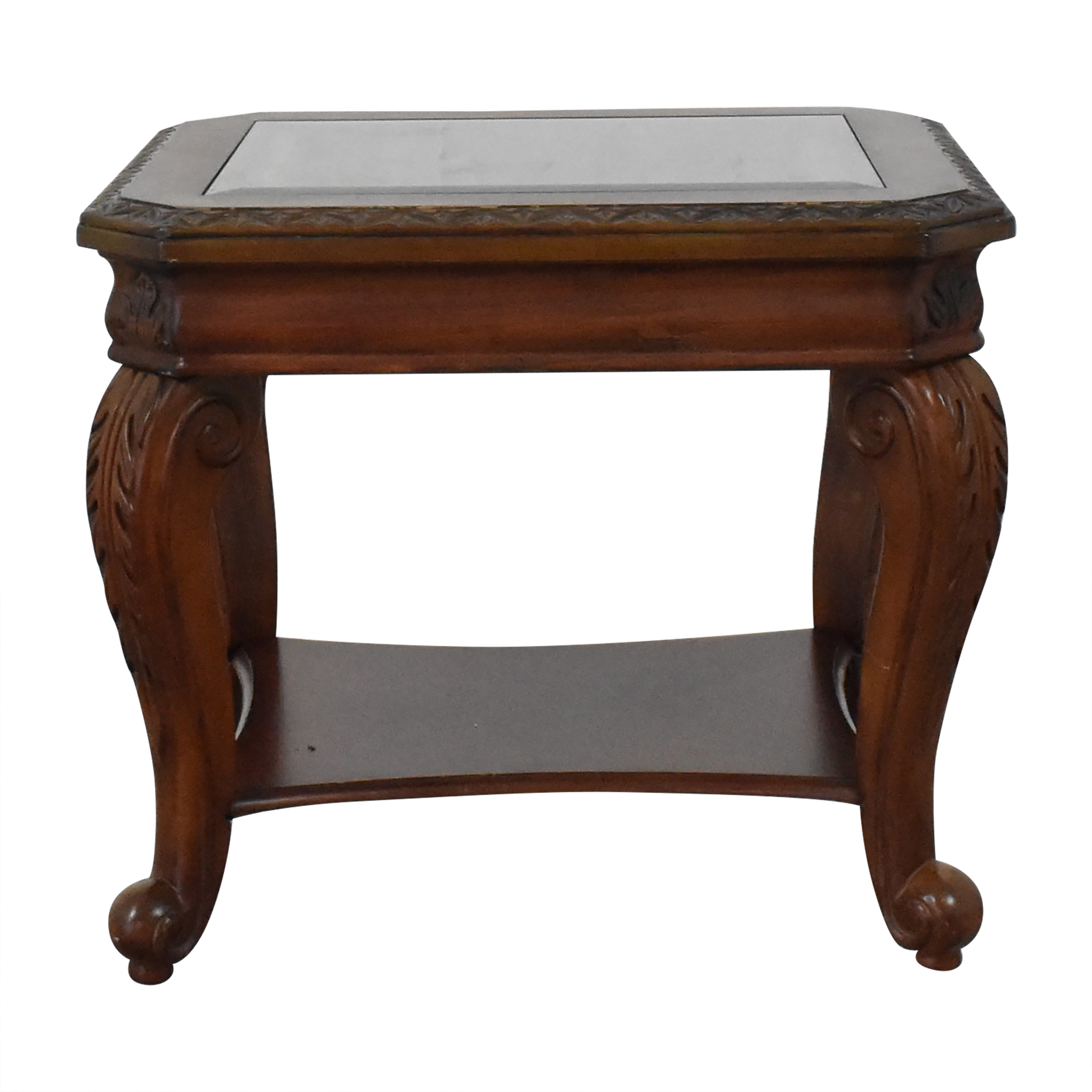 Costco Costco End Table with Bottom Shelf on sale
