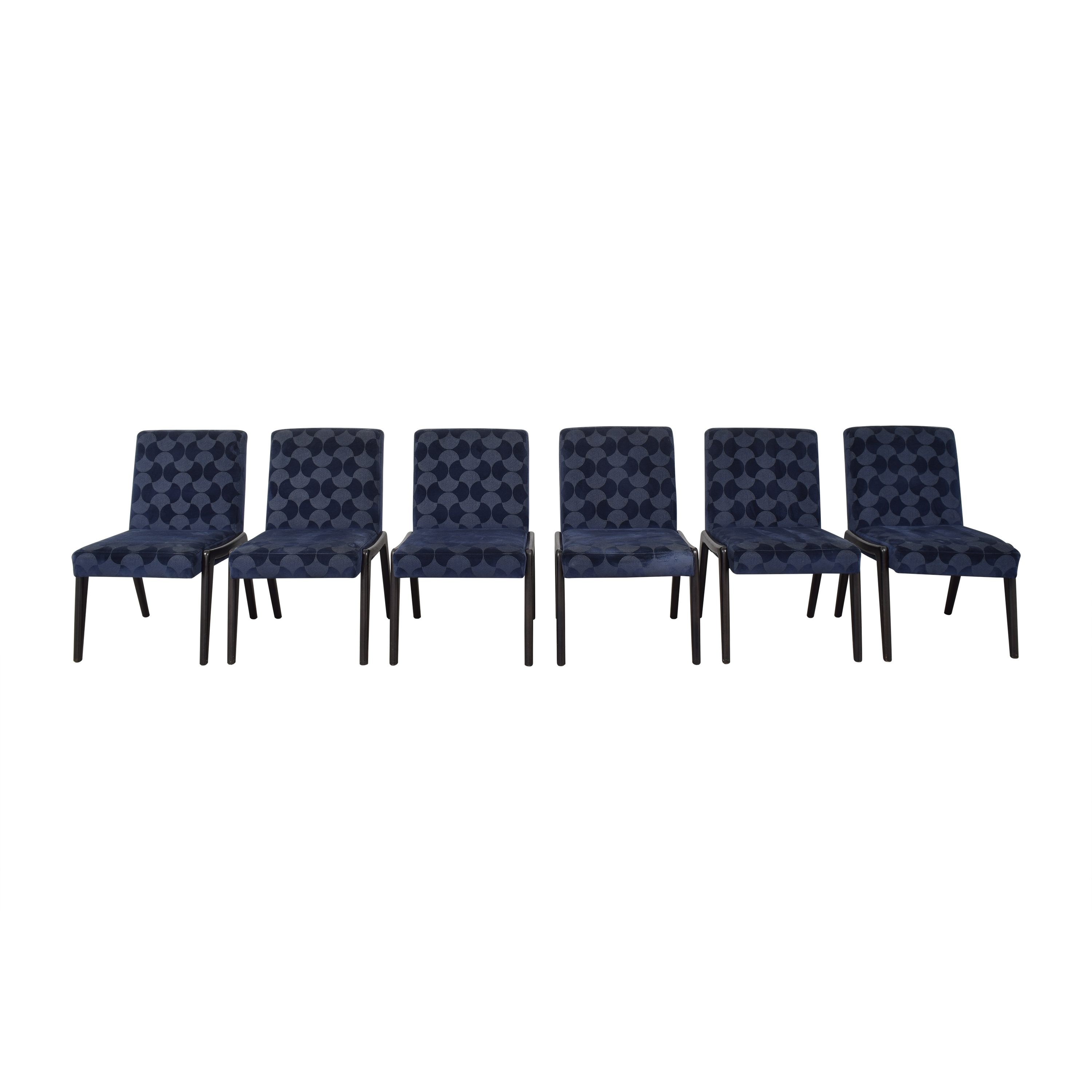 Caracole Upholstered Side Dining Chairs  / Dining Chairs