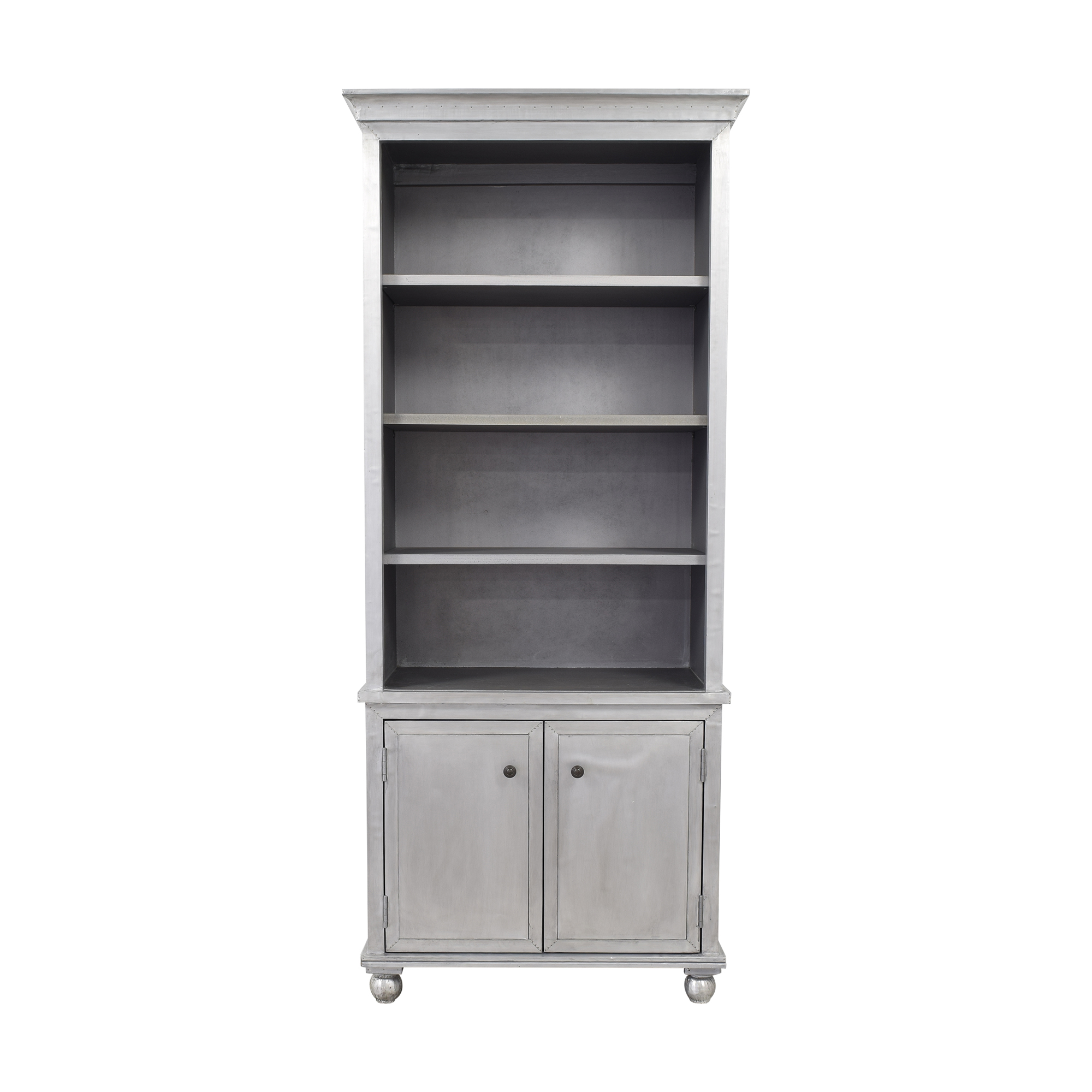 Restoration Hardware Restoration Hardware Annecy Sideboard with Open Hutch Bookcases & Shelving