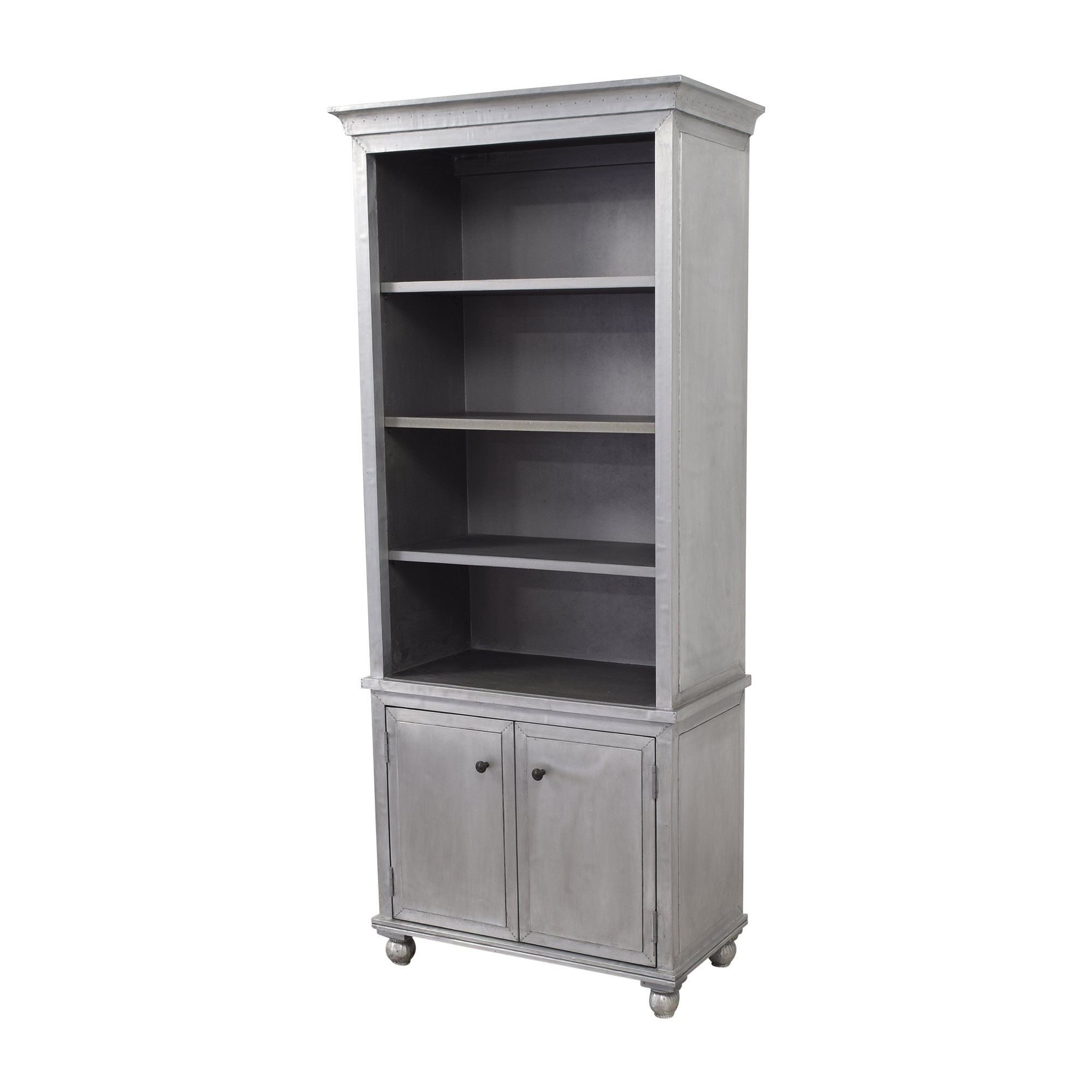 Restoration Hardware Restoration Hardware Annecy Sideboard with Open Hutch for sale