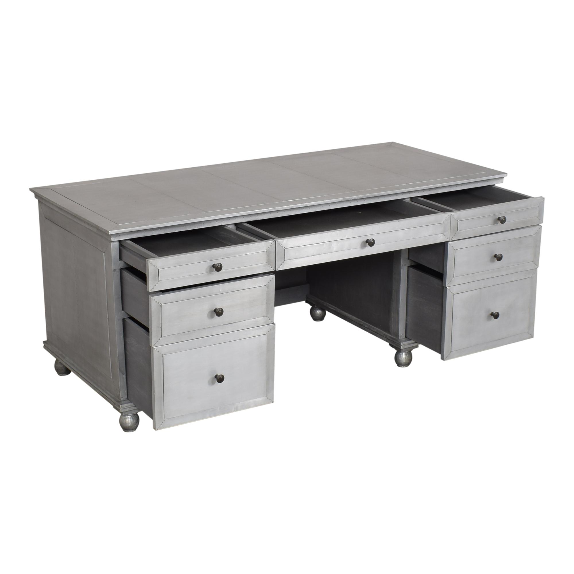 buy Restoration Hardware Annecy Desk Restoration Hardware Tables