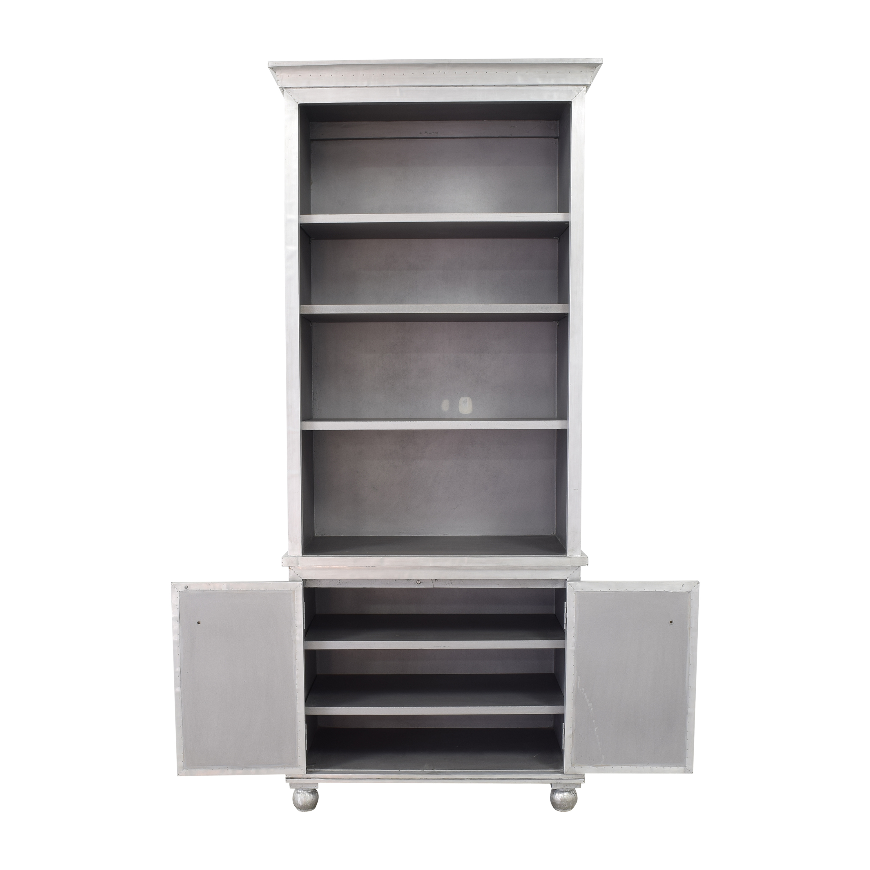 Restoration Hardware Restoration Hardware Annecy Double Door Sideboard and Open Hutch used