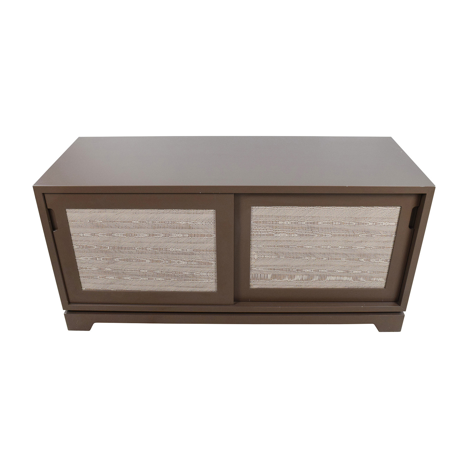 buy Custom Dark Taupe Media Unit Custom Storage