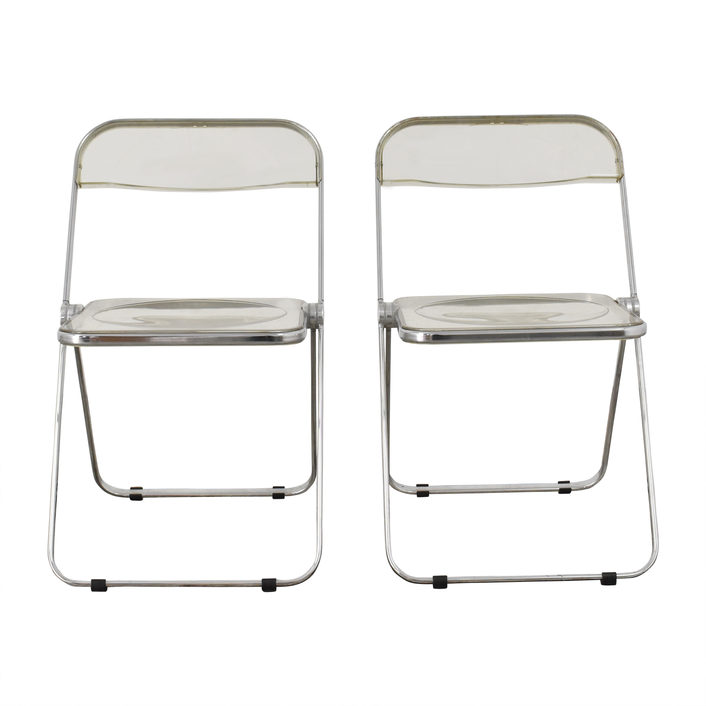 Anonima Castelli by Giancarlo Piretti Plia Folding Chairs Anonima Castelli