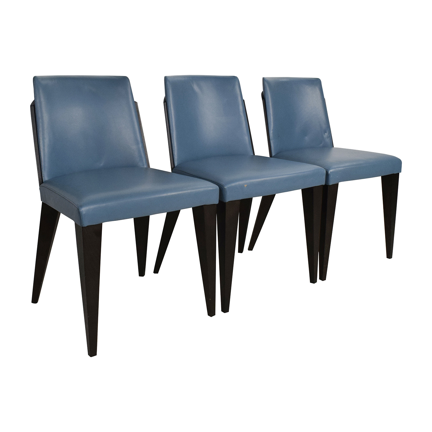 navy blue leather dining chairs good scroll to previous