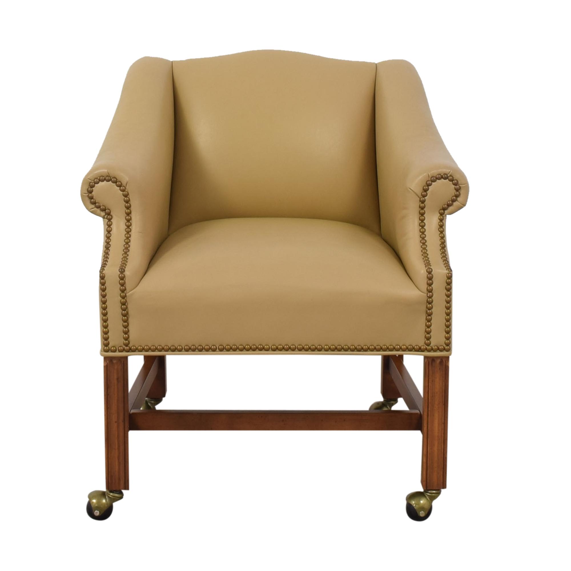 buy McKinley Leather Furniture McKinley Nailhead Office Chair online