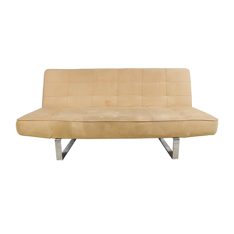 62 OFF BoConcept BoConcept Zen Beige Sleeper Sofa Sofas