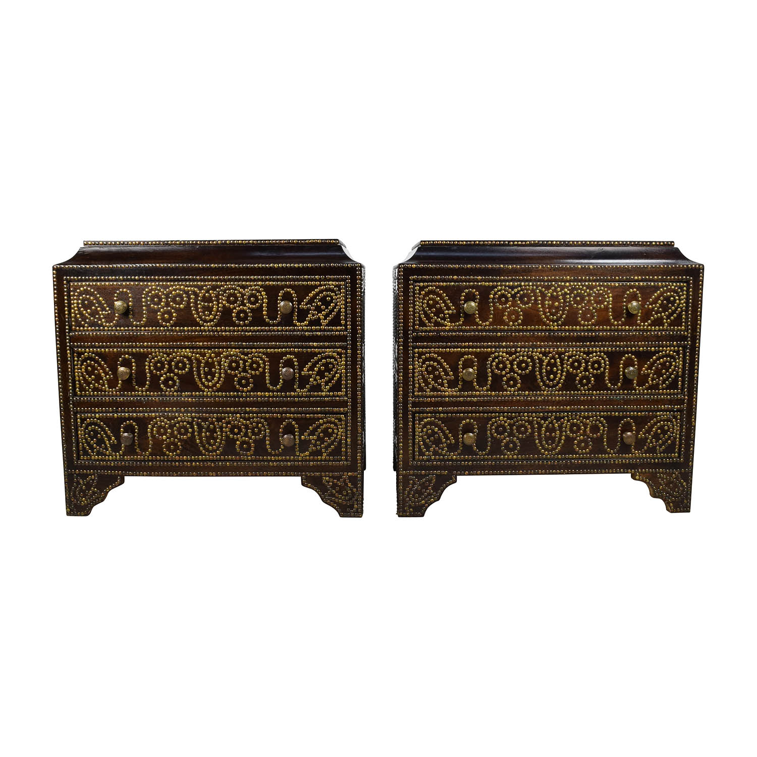 buy Horchow Coco Studded Chests Horchow