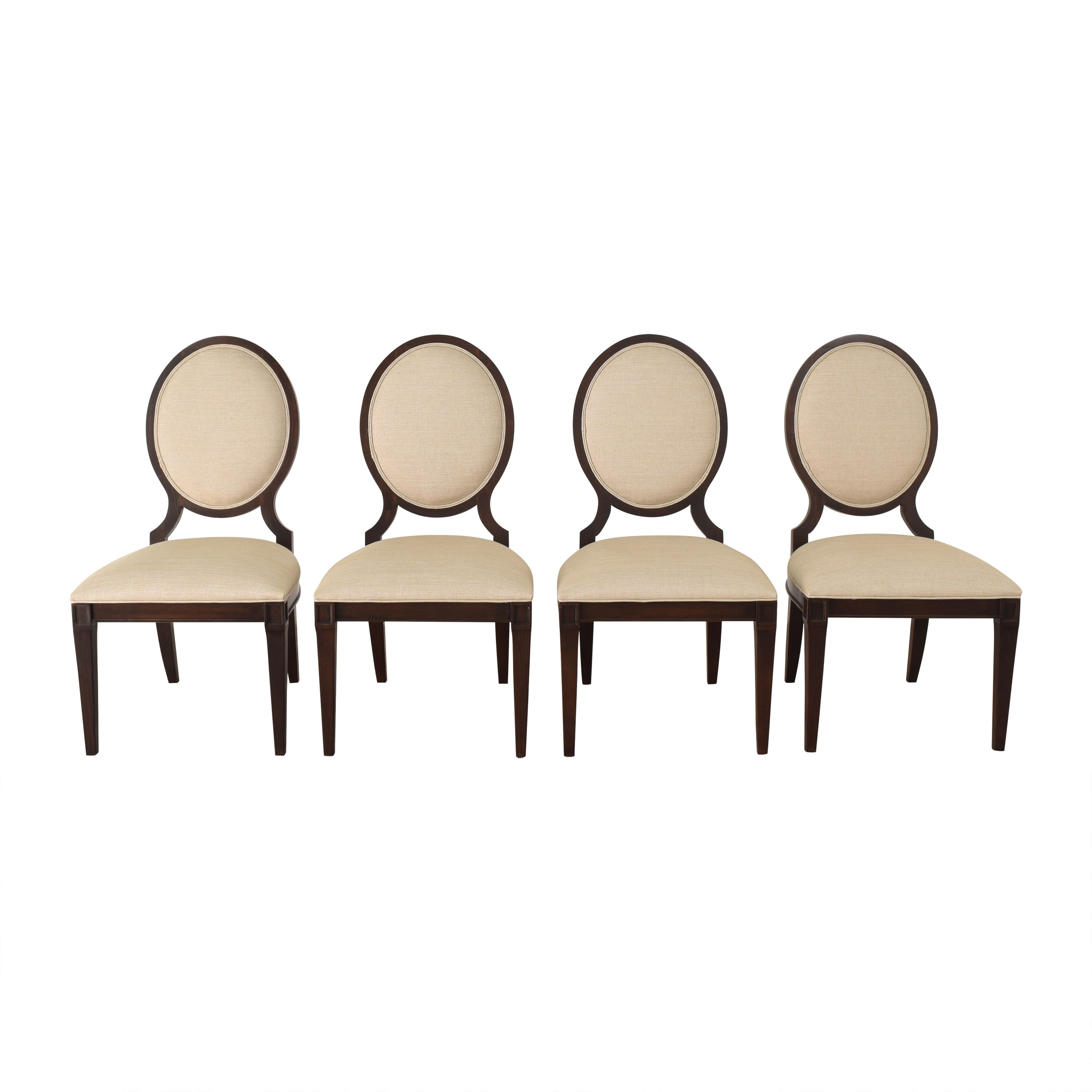 buy Ethan Allen Lindsay Side Dining Chairs Ethan Allen