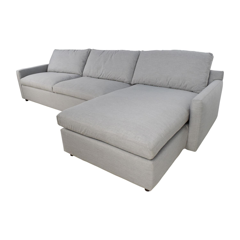 ... Shop ABC Carpet U0026 Home Cobble Hill Lucali Sectional ABC Carpet And Home  Sectionals ...