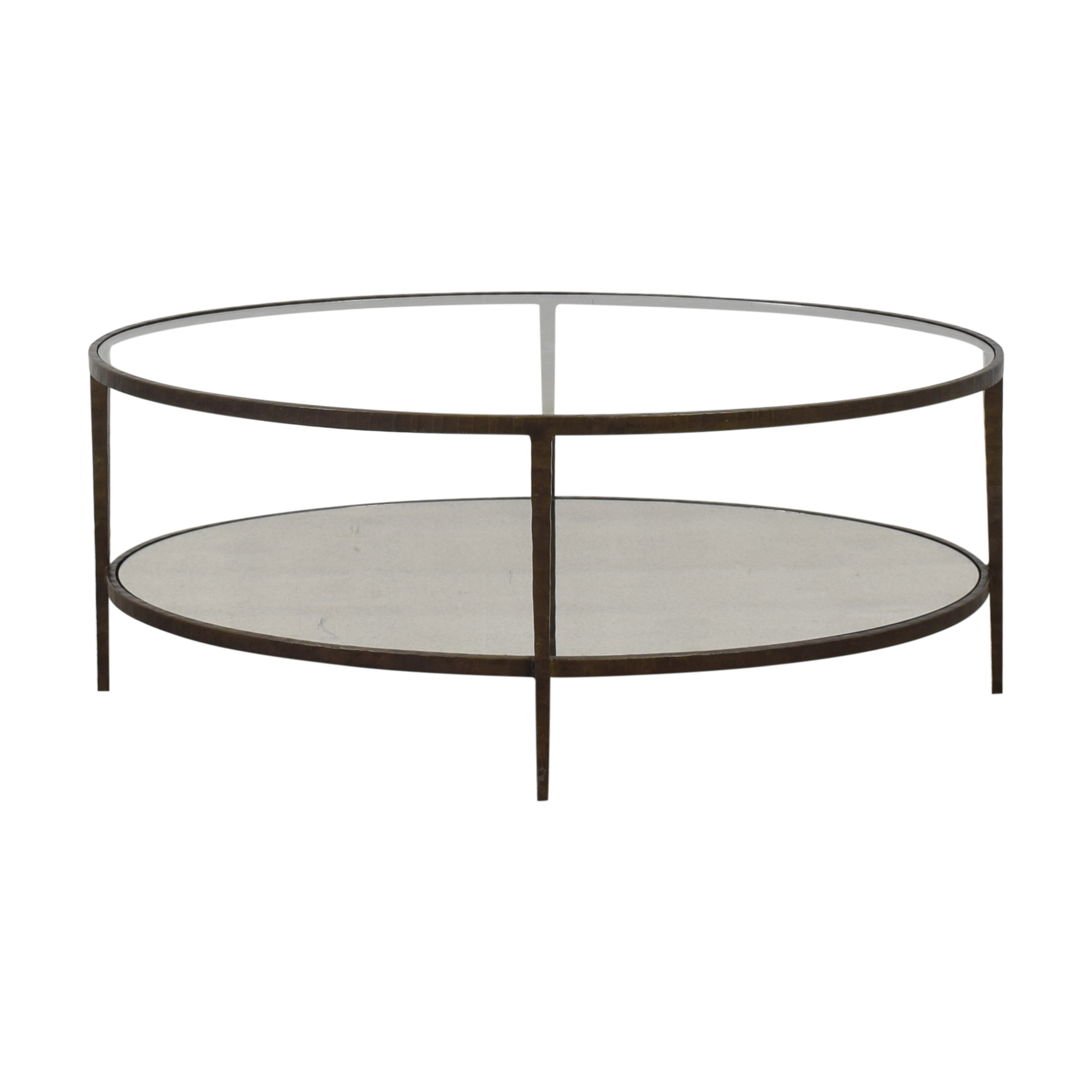 Crate & Barrel Crate & Barrel Clairemont Coffee Table discount