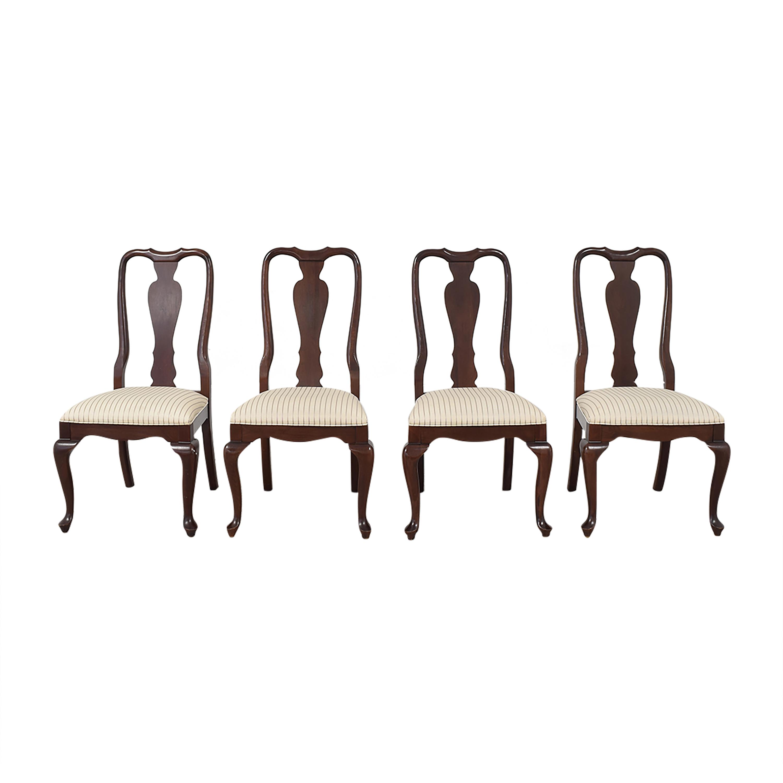 shop Ethan Allen Ethan Allen Georgian Court Dining Side Chairs online