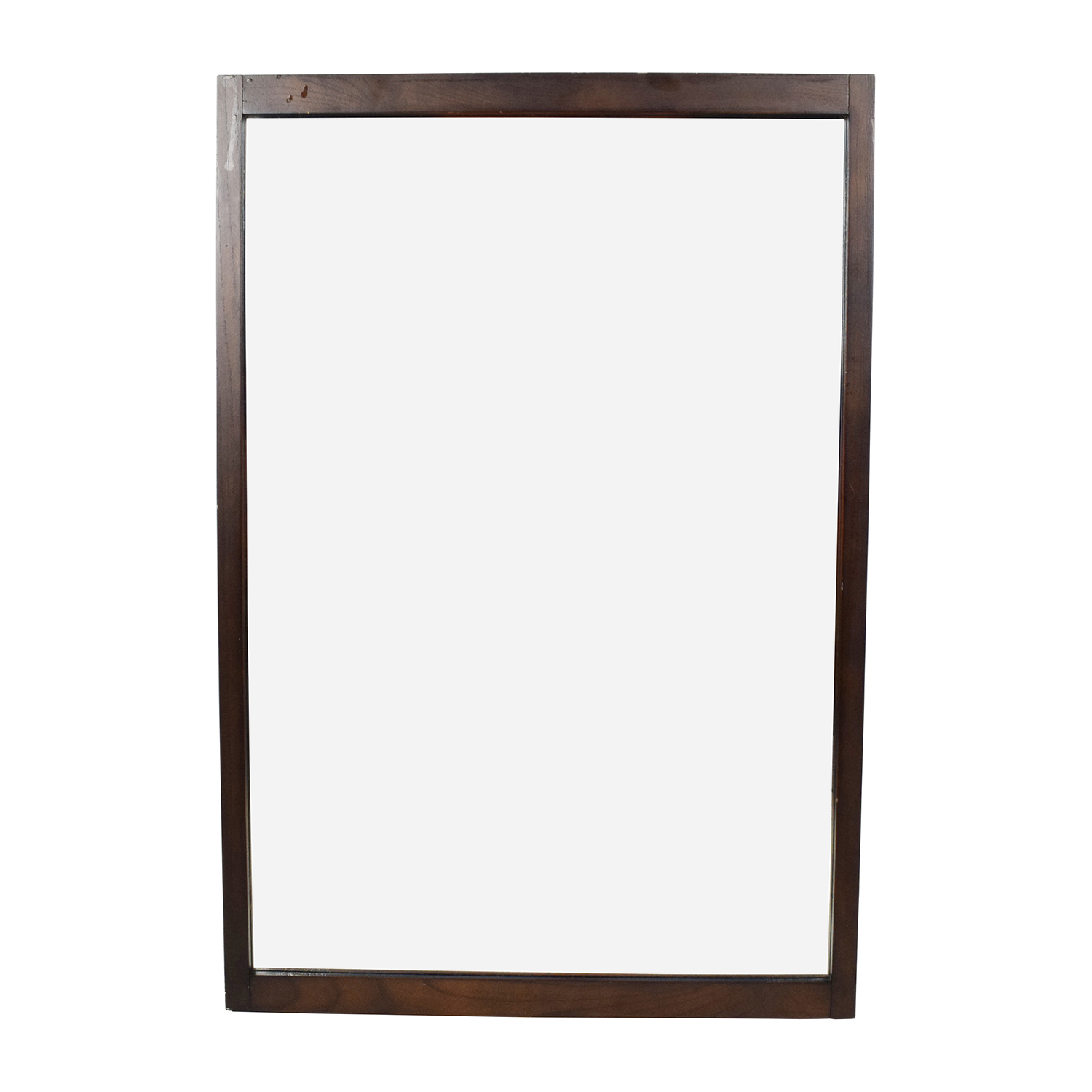 Pottery Barn Pottery Barn Wood Framed Mirror for sale