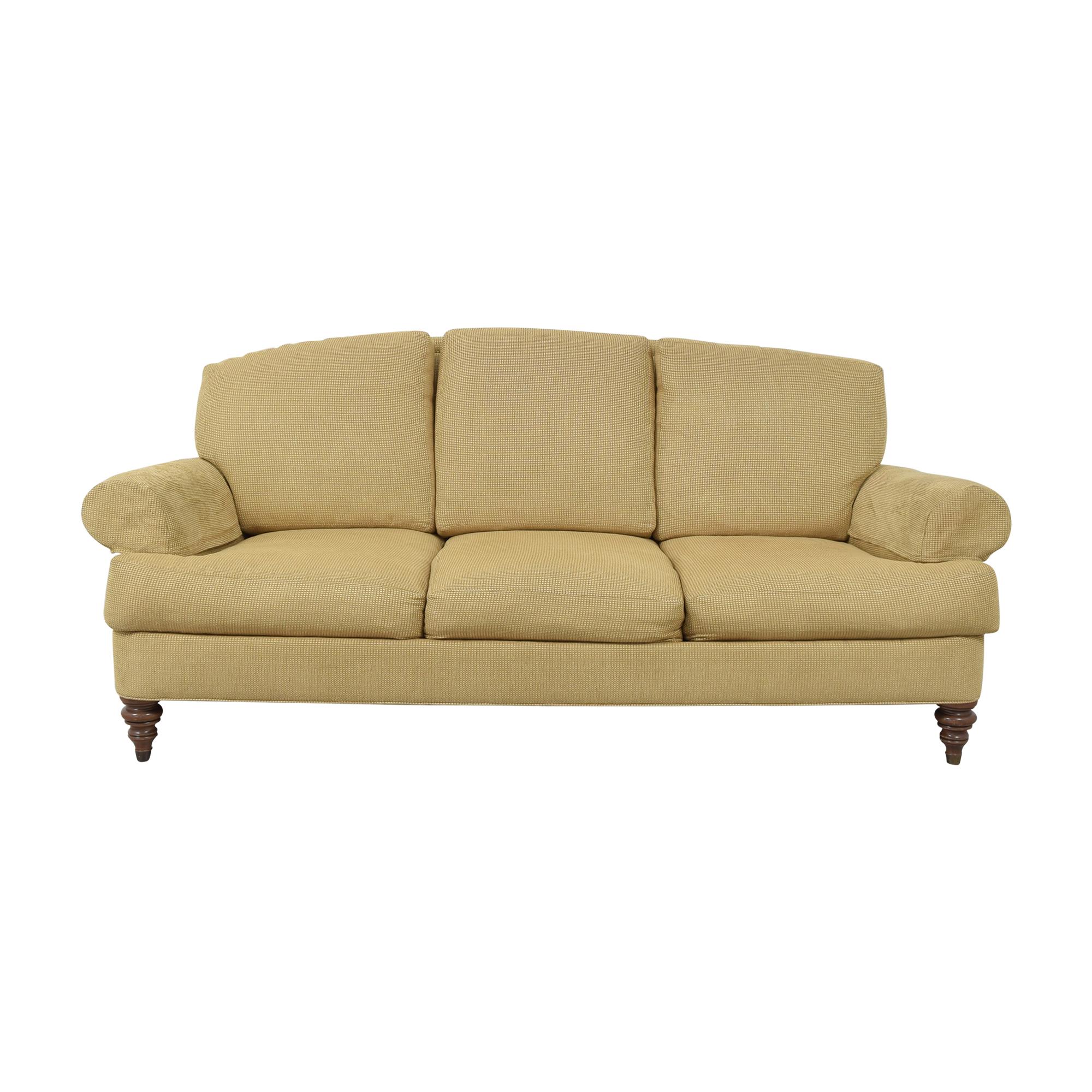 buy Ethan Allen Ethan Allen Hyde Three Cushion Sofa online
