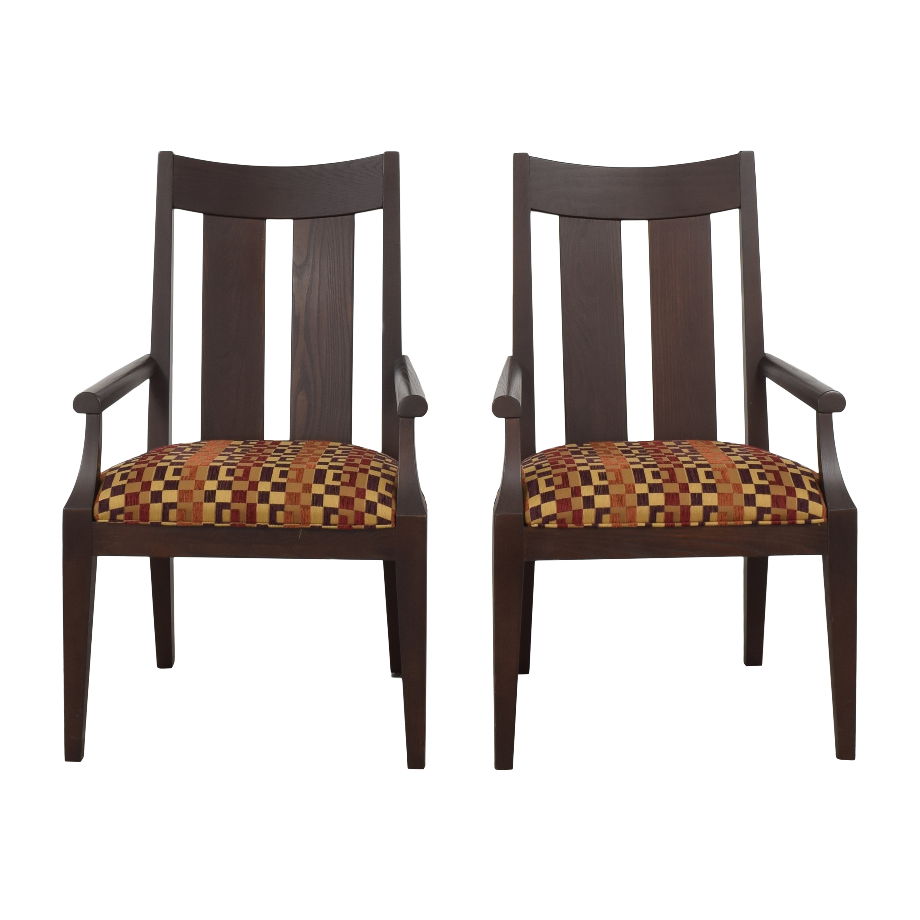 buy Ethan Allen Horizons Dining Arm Chairs Ethan Allen Dining Chairs