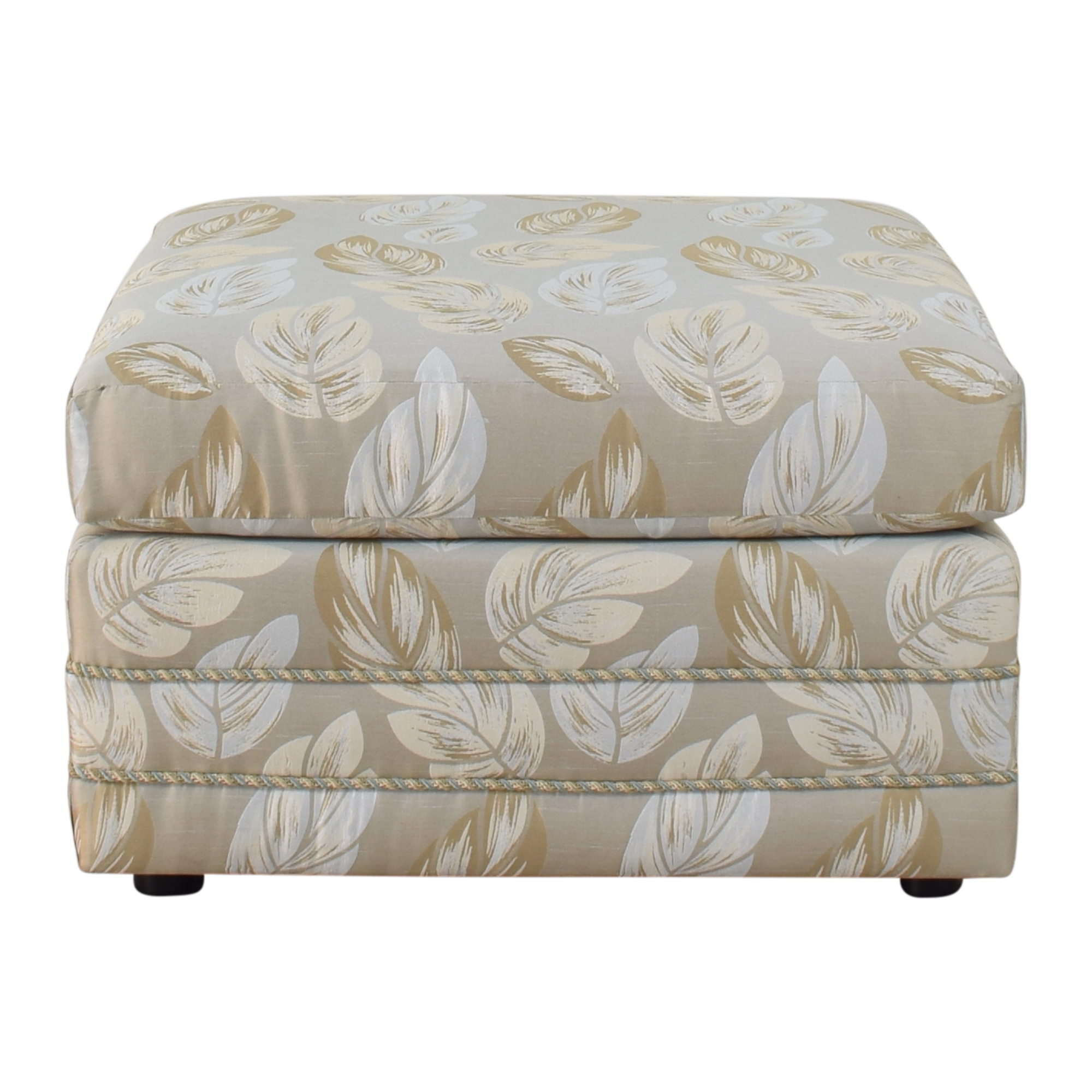 buy Custom Patterned Ottoman with Pillow  Ottomans