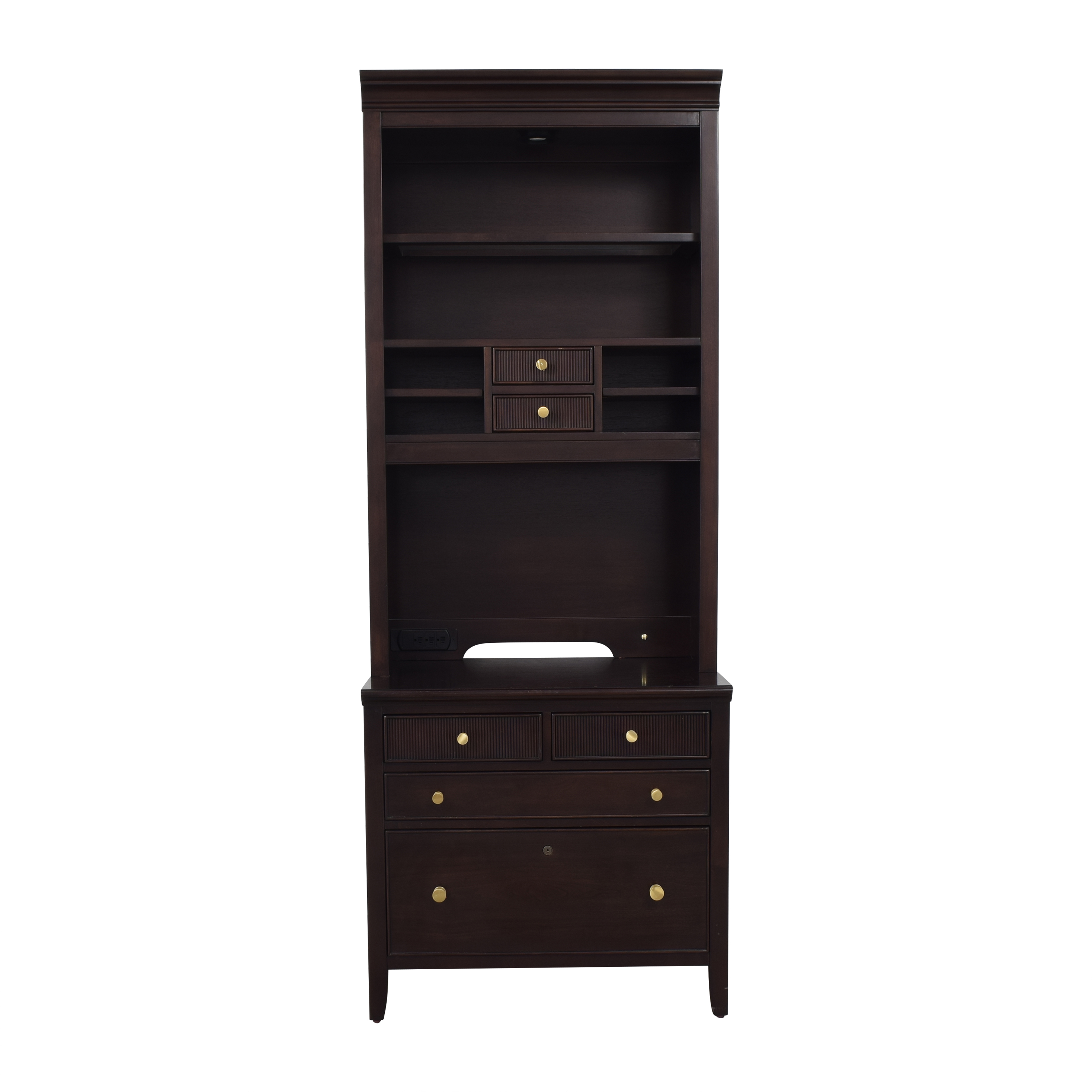 Stanley Furniture Stanley Furniture Cabinet with Hutch ma