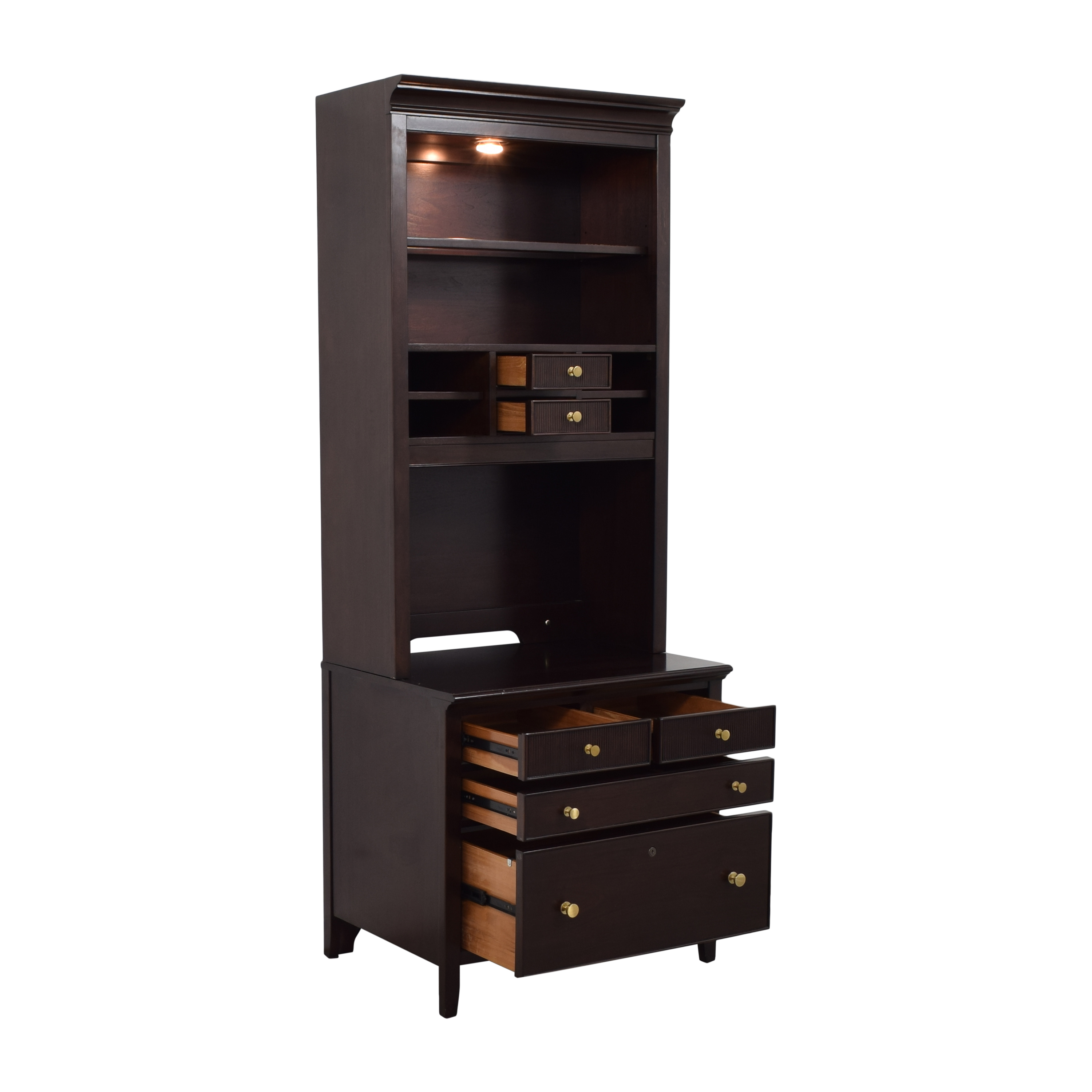Stanley Furniture Stanley Furniture Cabinet with Shelving ma