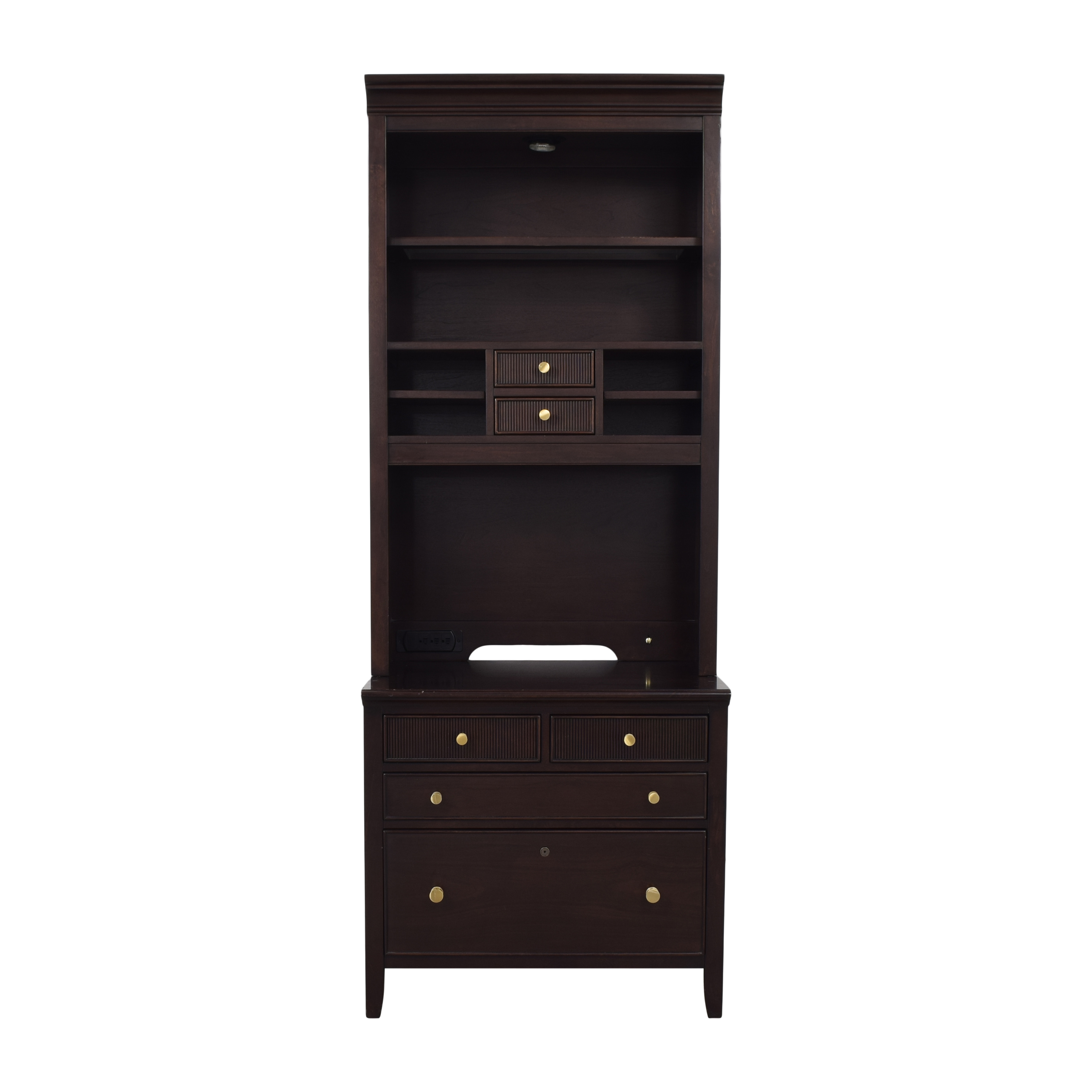 shop Stanley Furniture Cabinet with Shelving Stanley Furniture