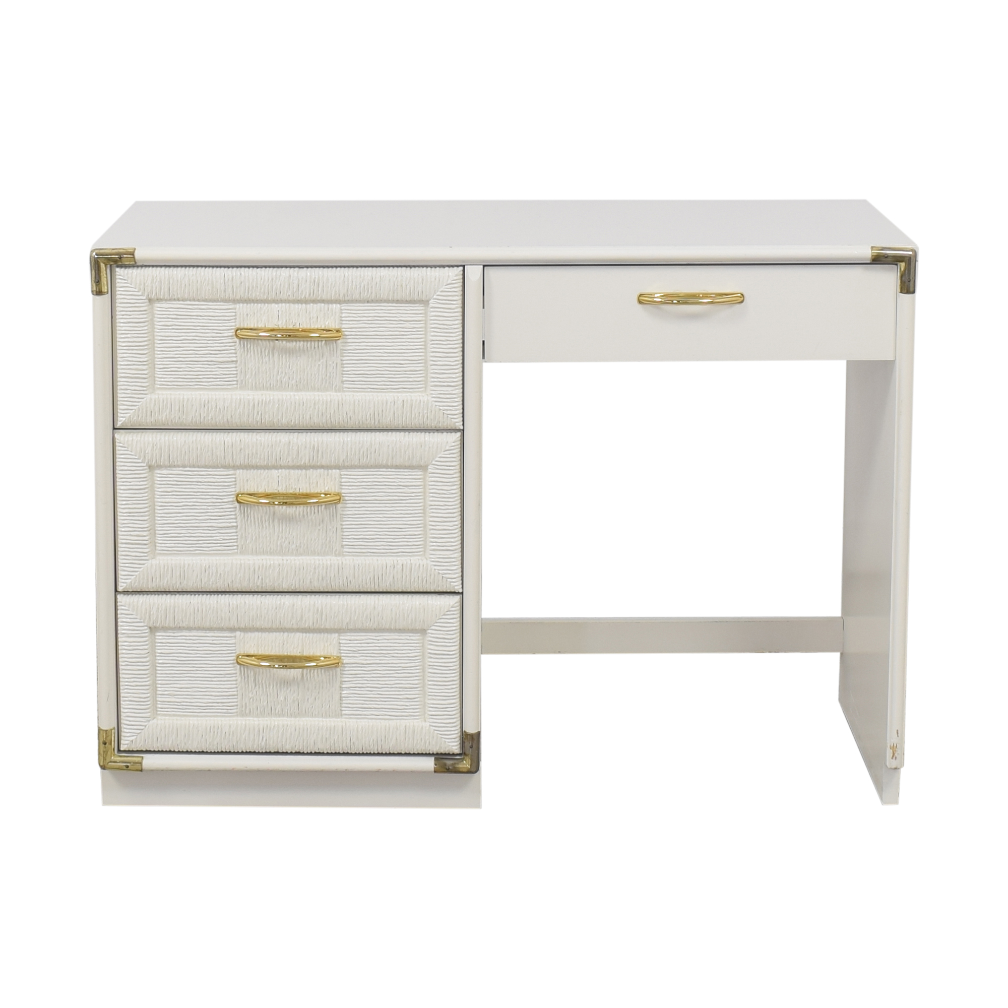 shop Bassett Pedestal Desk Bassett Furniture Home Office Desks