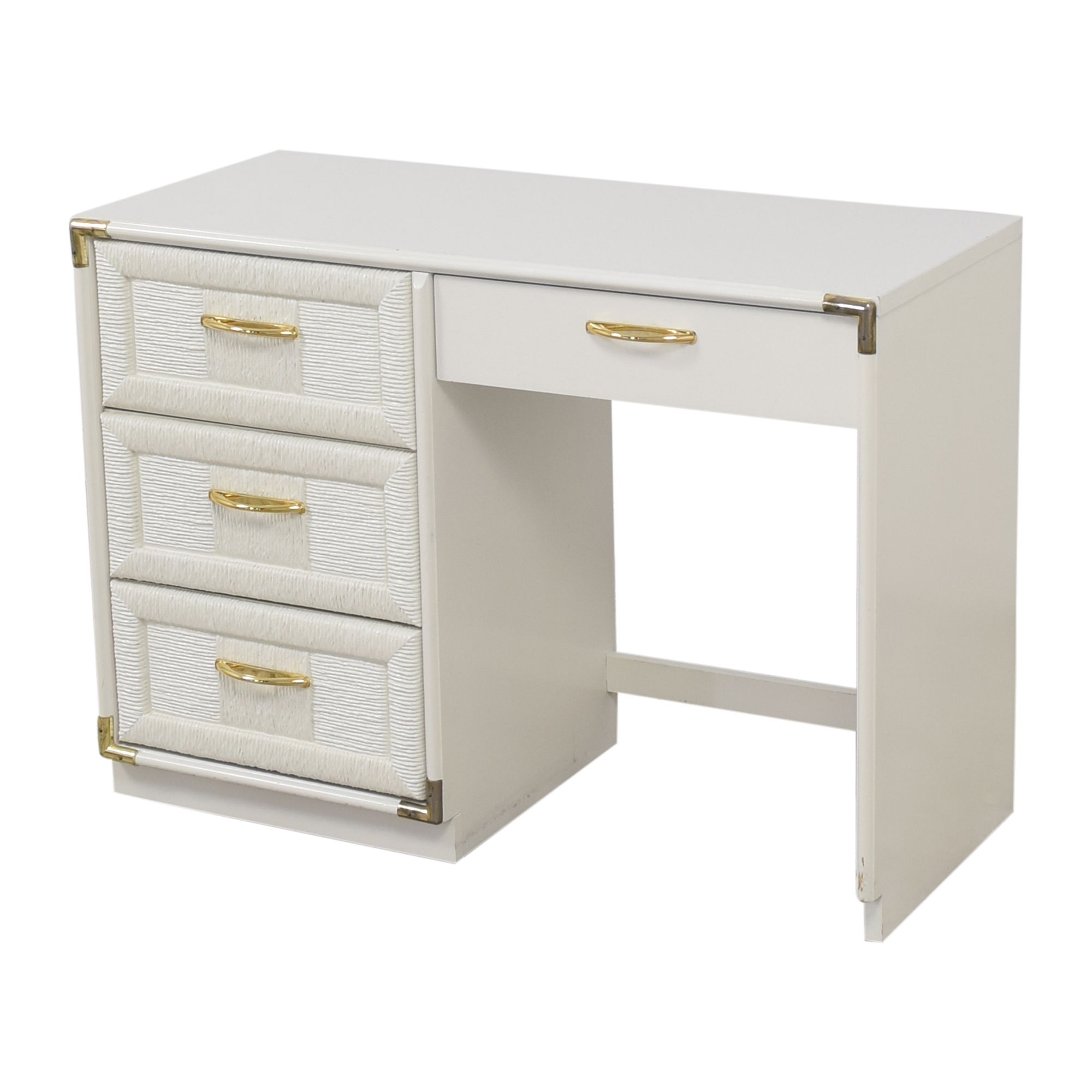 Bassett Furniture Bassett Pedestal Desk nj