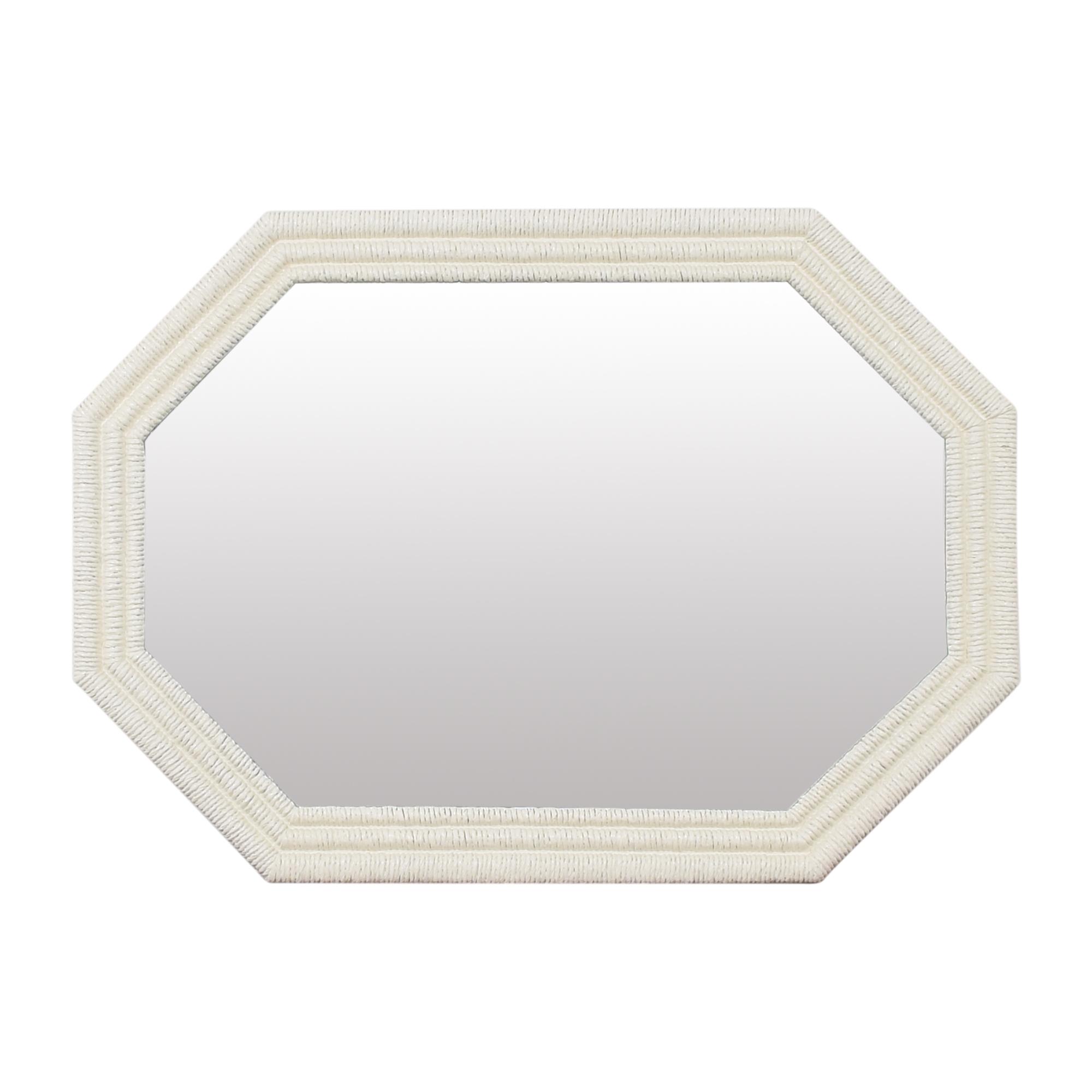 Bassett Furniture Bassett Octagonal Wall Mirror on sale