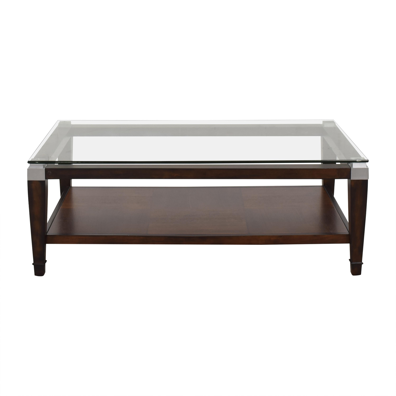 Macy's Silverado Rectangular Coffee Table / Coffee Tables