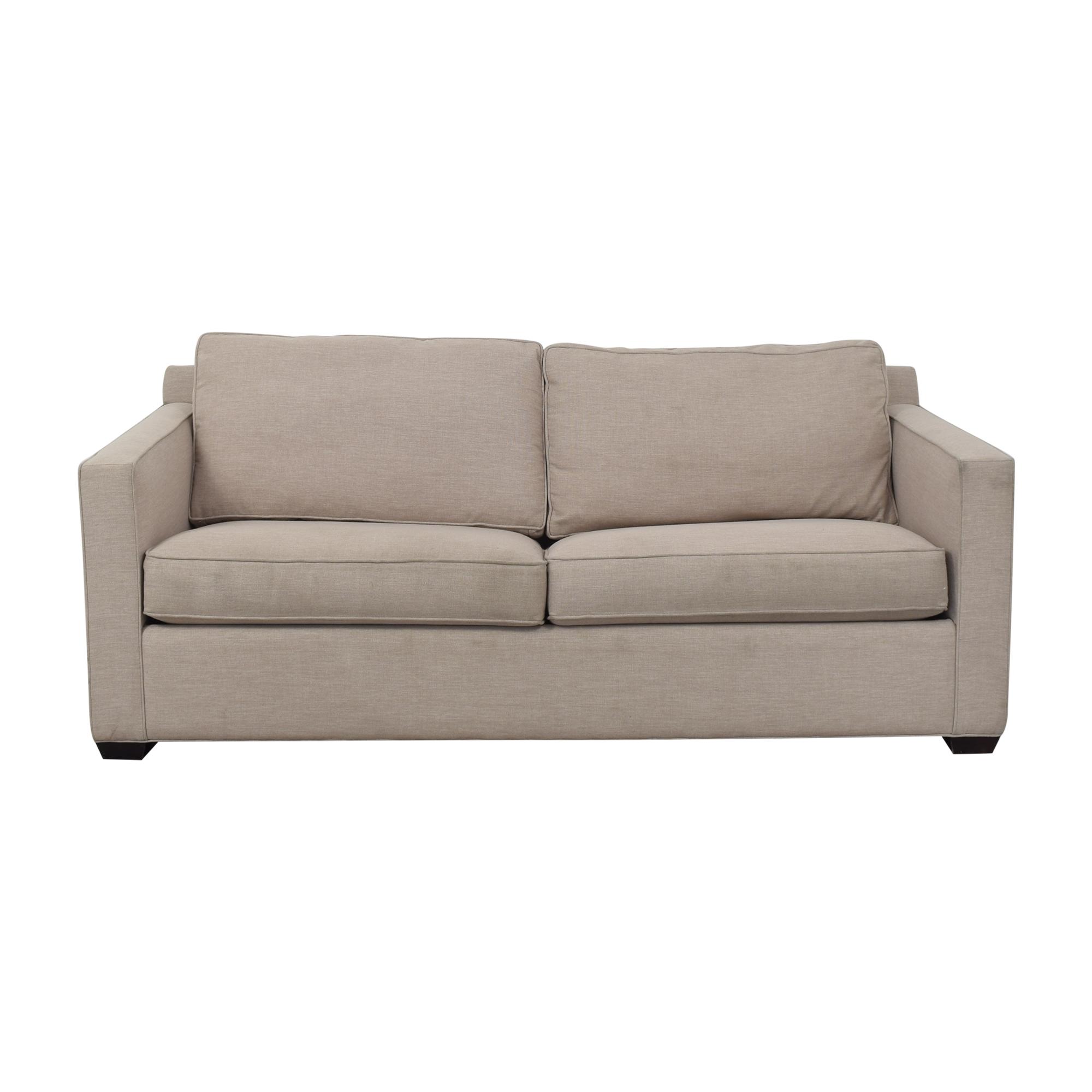 Crate & Barrel Crate & Barrel Two Cushion Sleeper Sofa