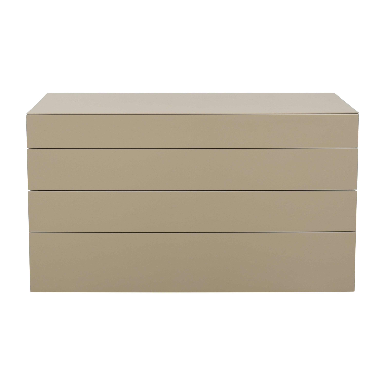 Poliform Poliform Abbinabili Four Drawer Chest  beige