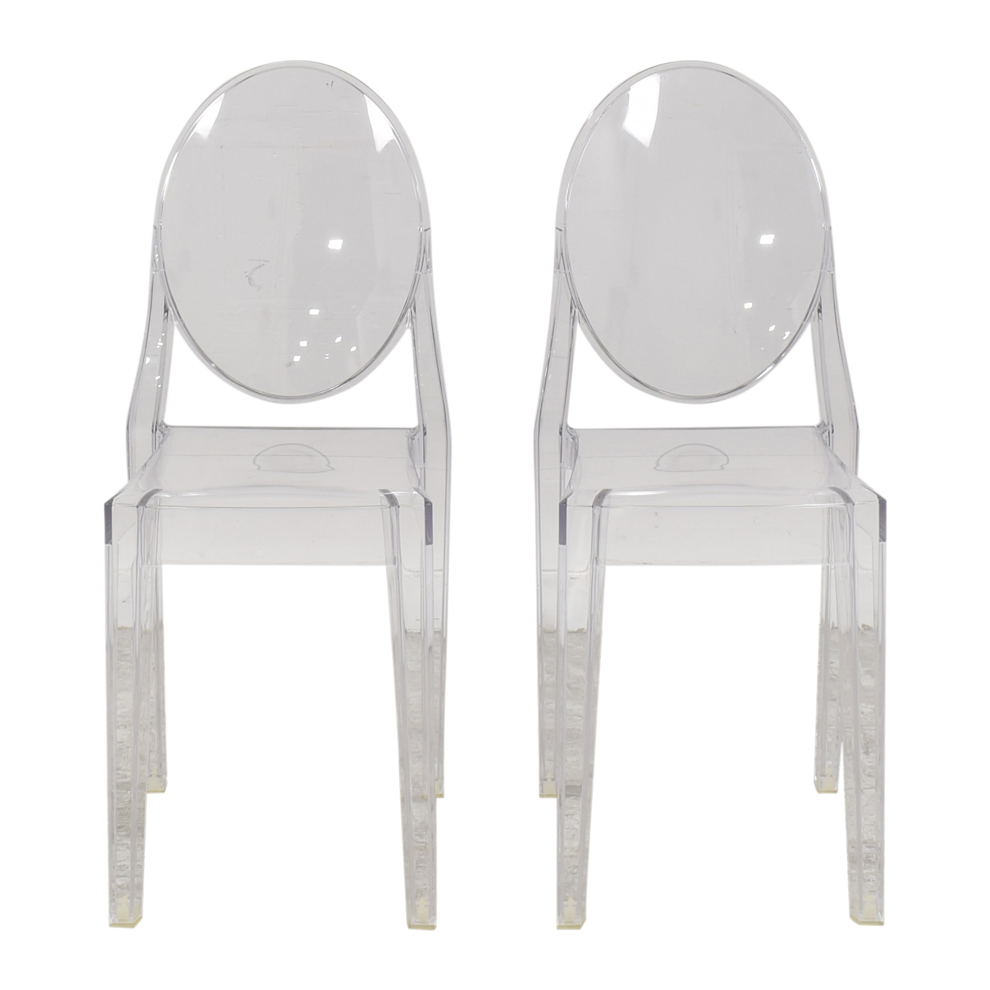 buy Kartell Victoria Ghost Dining Chairs Kartell Dining Chairs