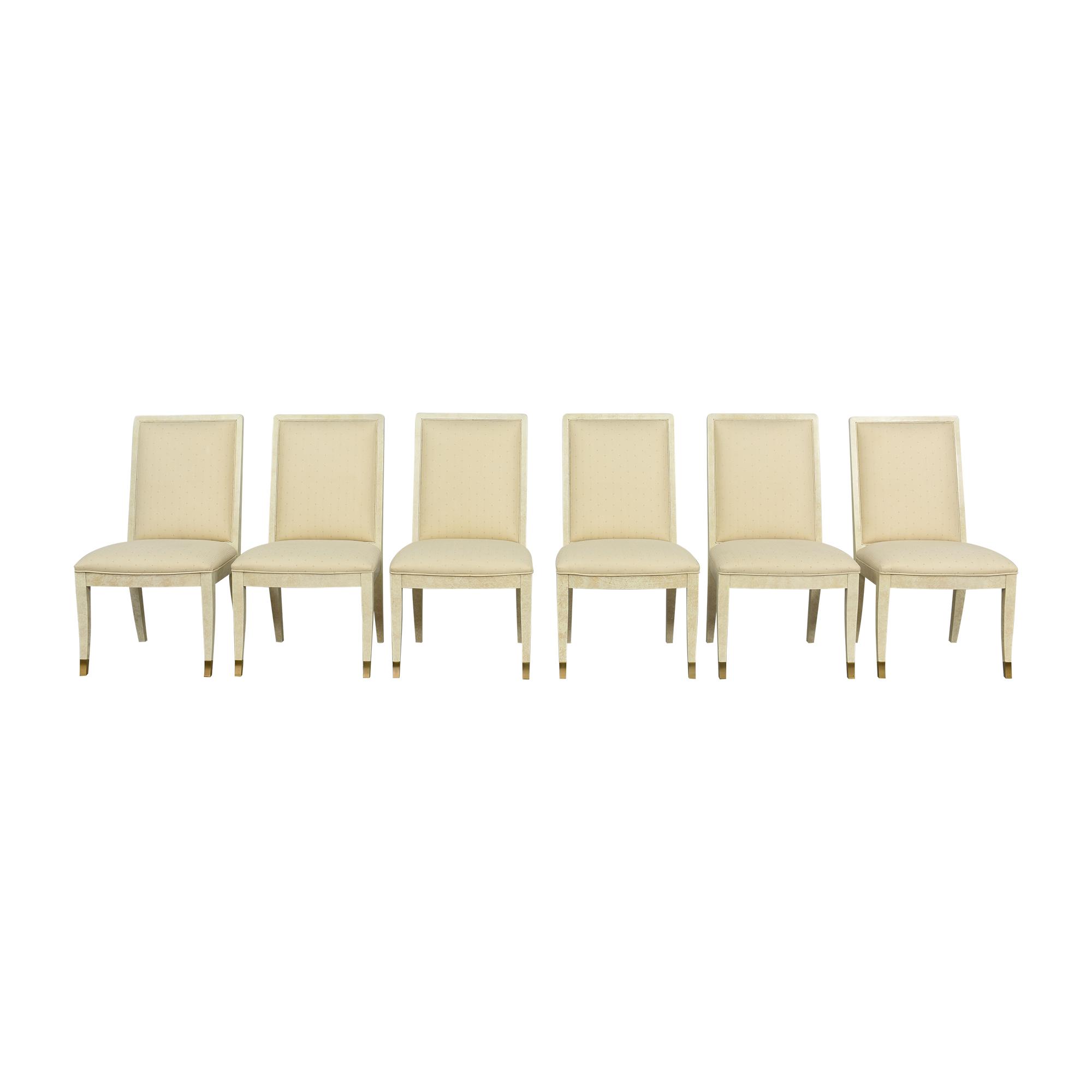 Henredon Furniture Henredon Furniture Upholstered Dining Side Chairs nj