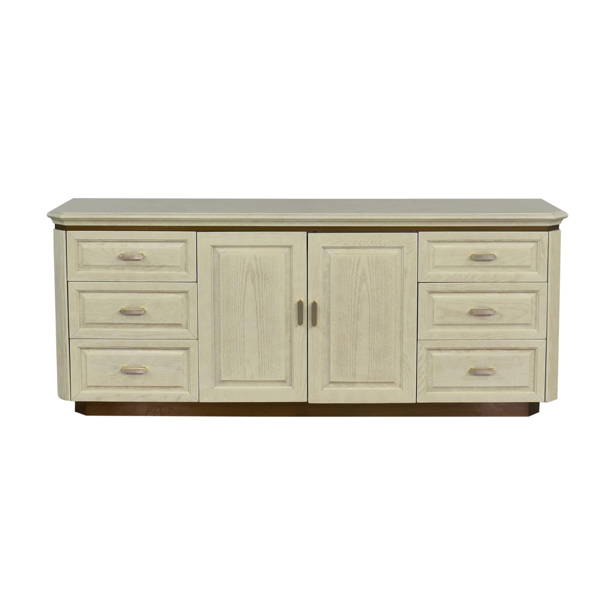 Henredon Furniture Henredon Charisma Triple Dresser white