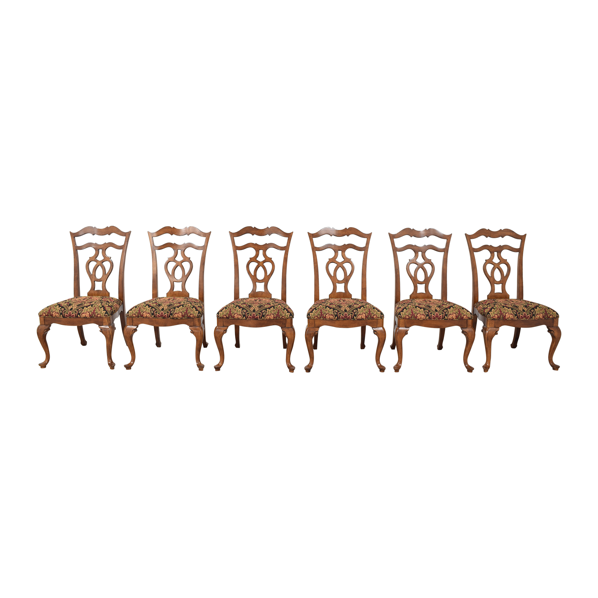 Thomasville Upholstered Dining Side Chairs sale
