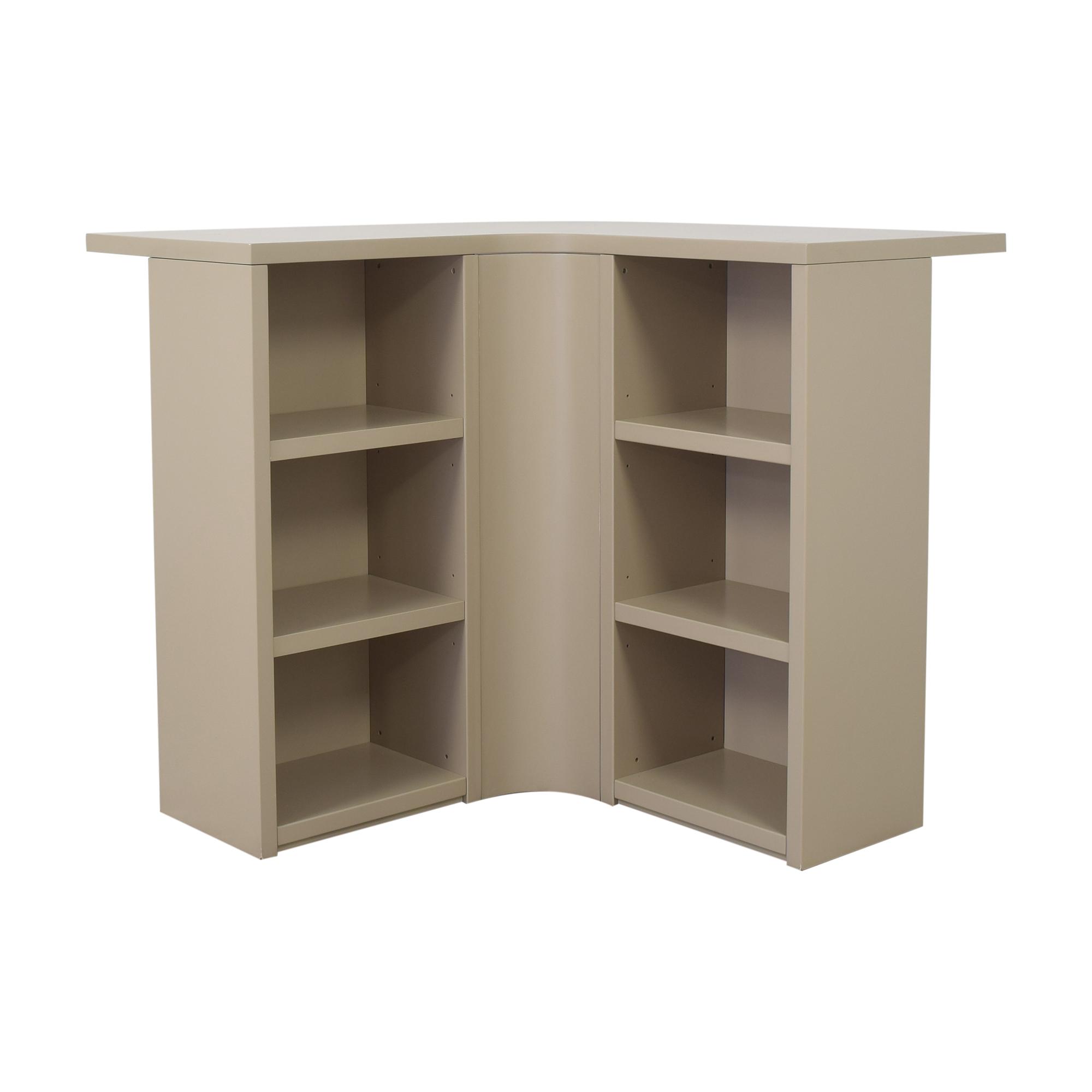 Poliform Poliform Corner Bar Table beige