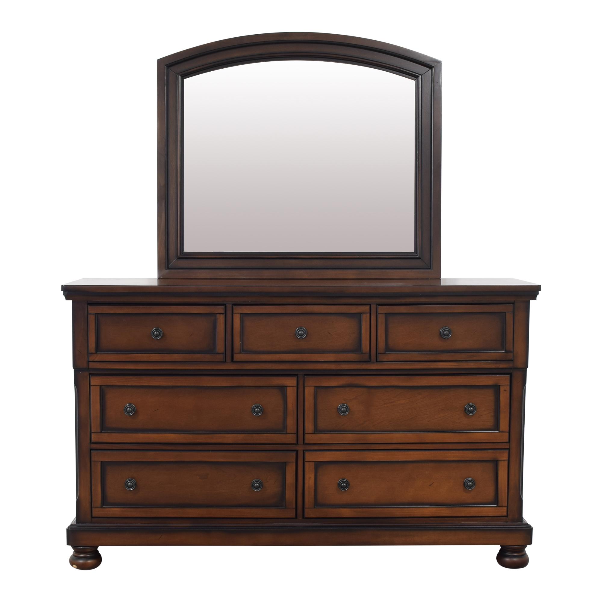 Raymour & Flanigan Raymour & Flanigan Donegan Dresser and Mirror price