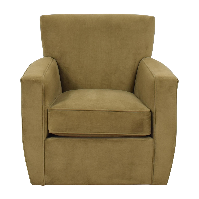 Crate & Barrel Crate & Barrel Swivel Chair pa