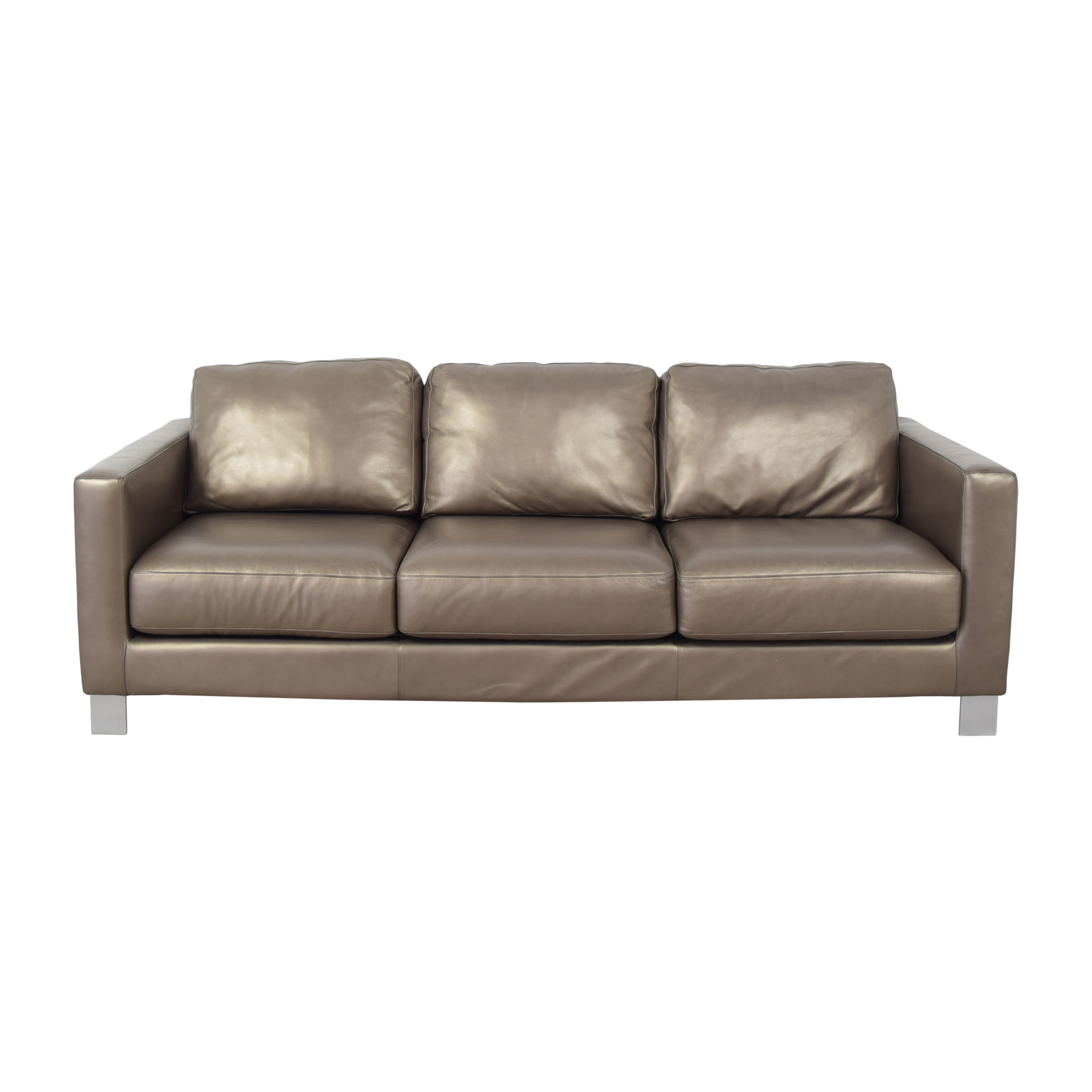 American Leather American Leather Track Arm Sofa on sale