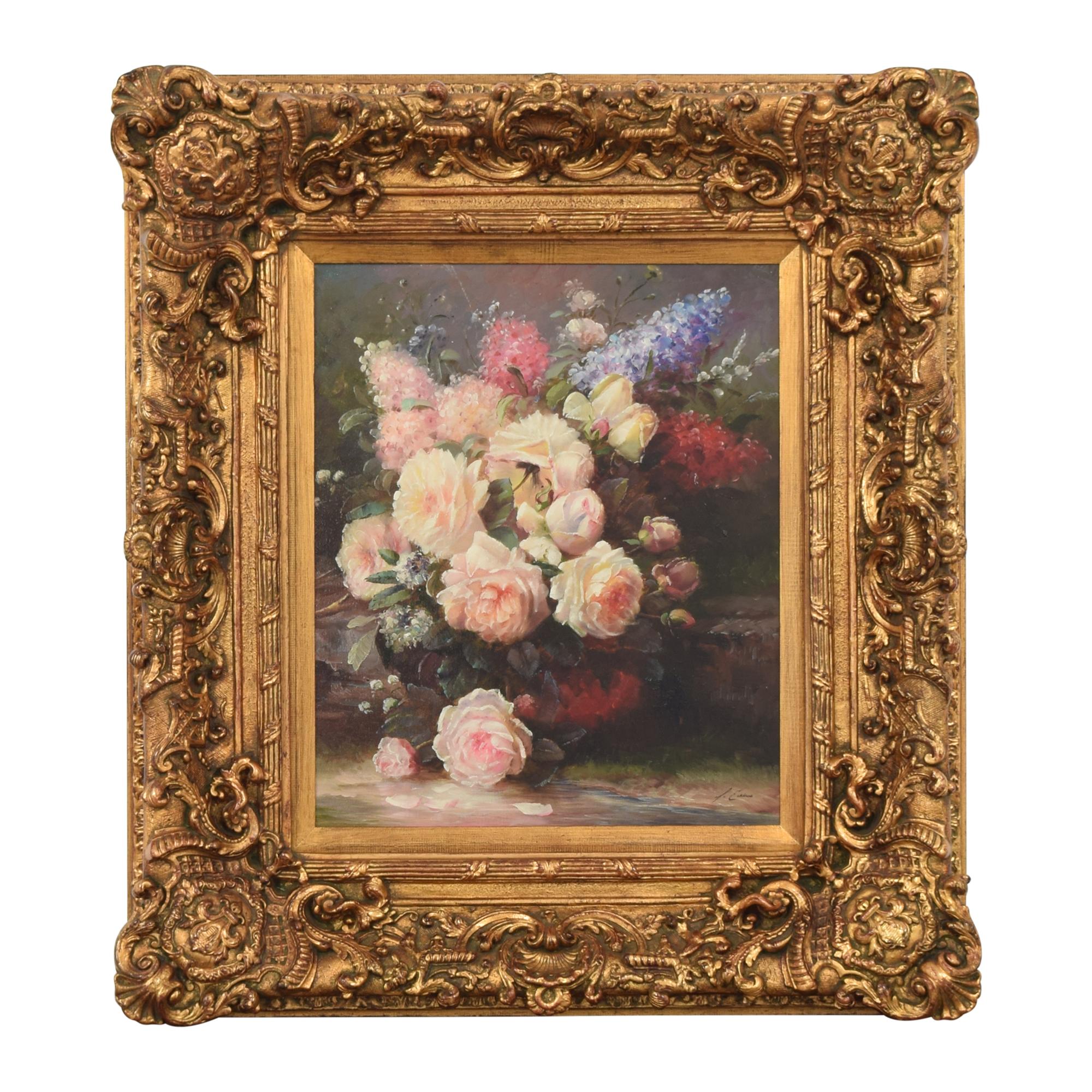 Vintage Framed Floral Wall Art  coupon