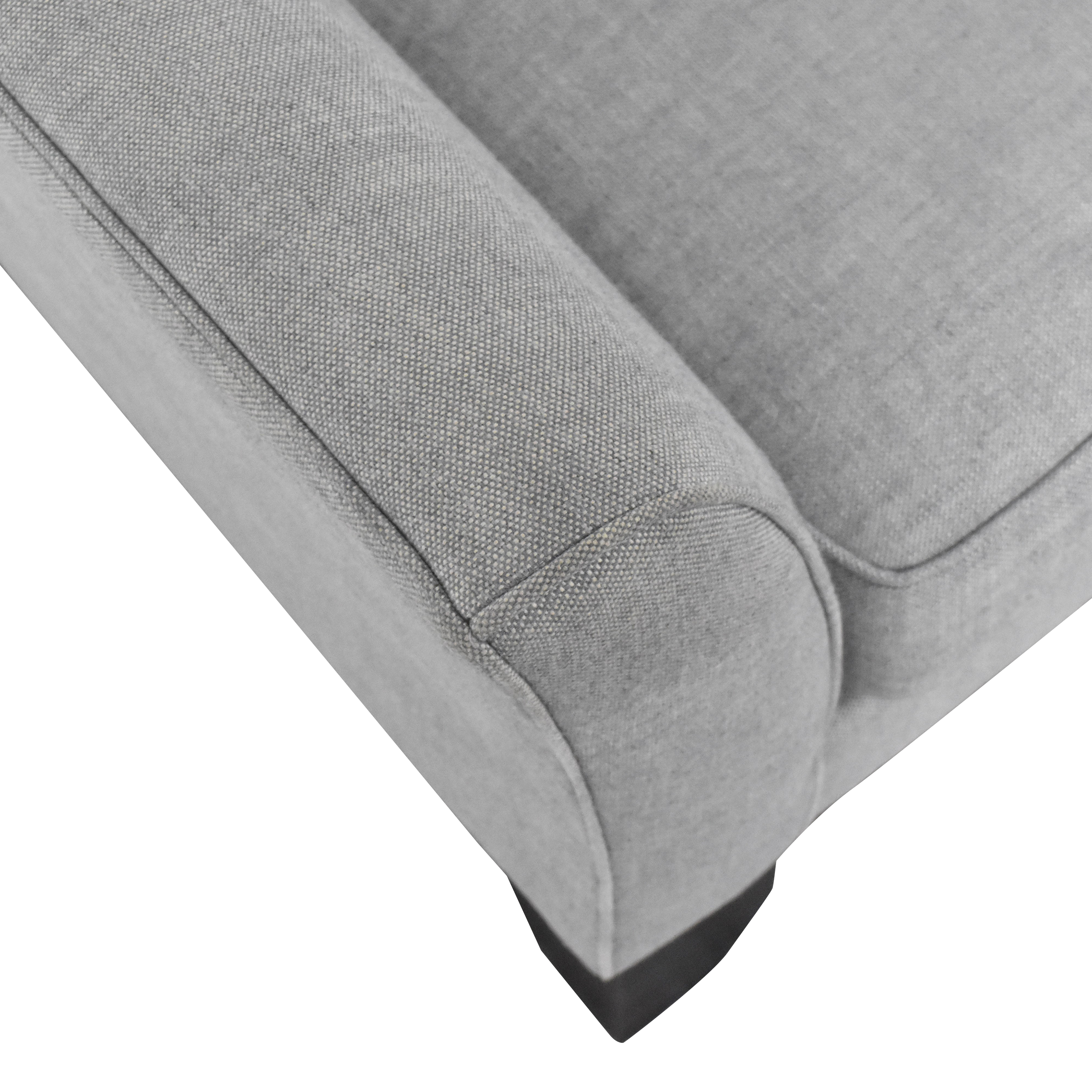 Pottery Barn Pottery Barn Greenwich Upholstered Two Cushion Sofa on sale