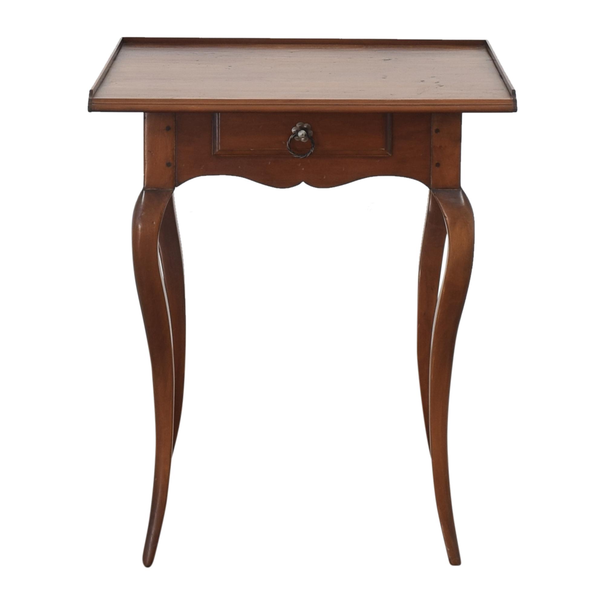 Single Drawer Tea Table
