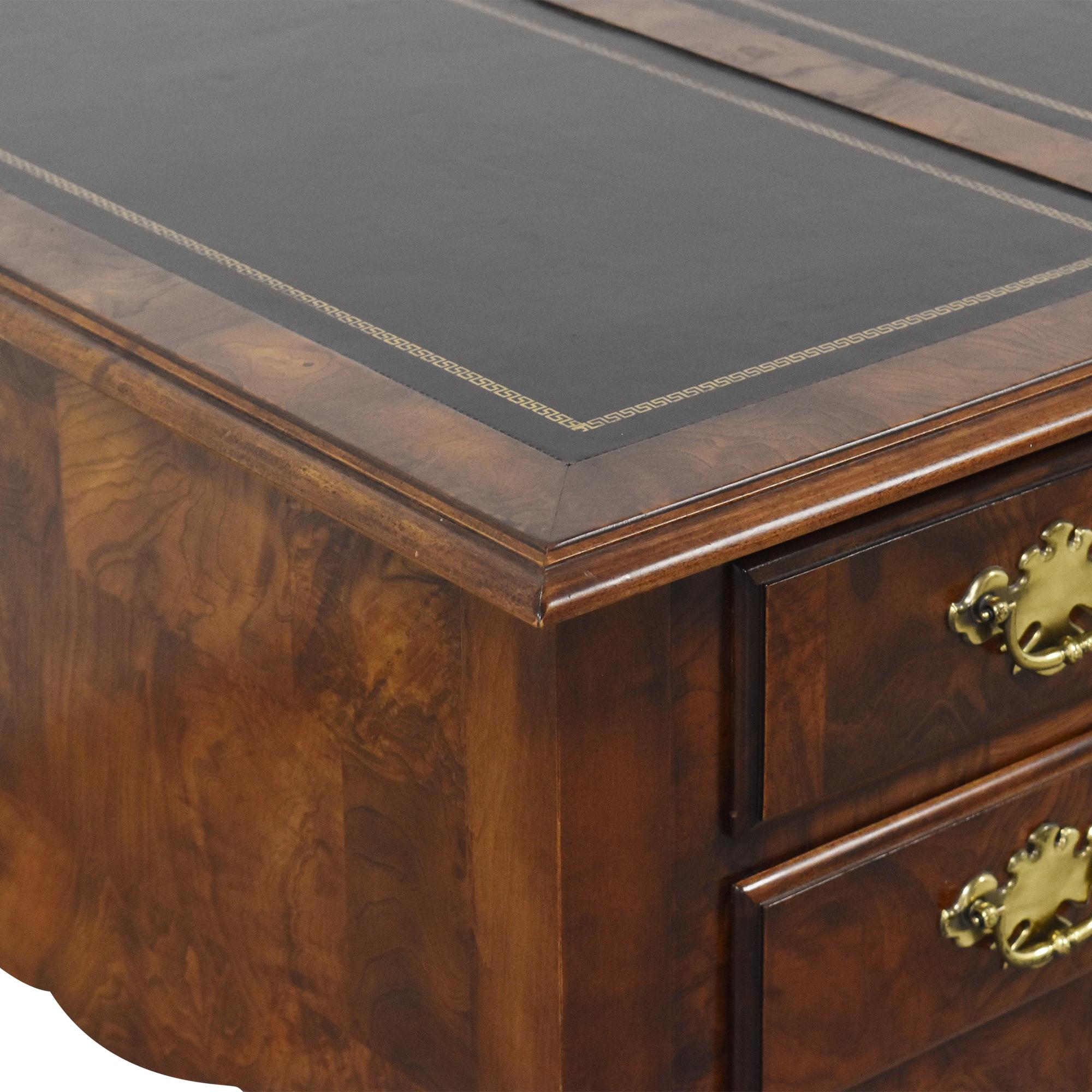 Mount Airy Five Drawer Desk  sale
