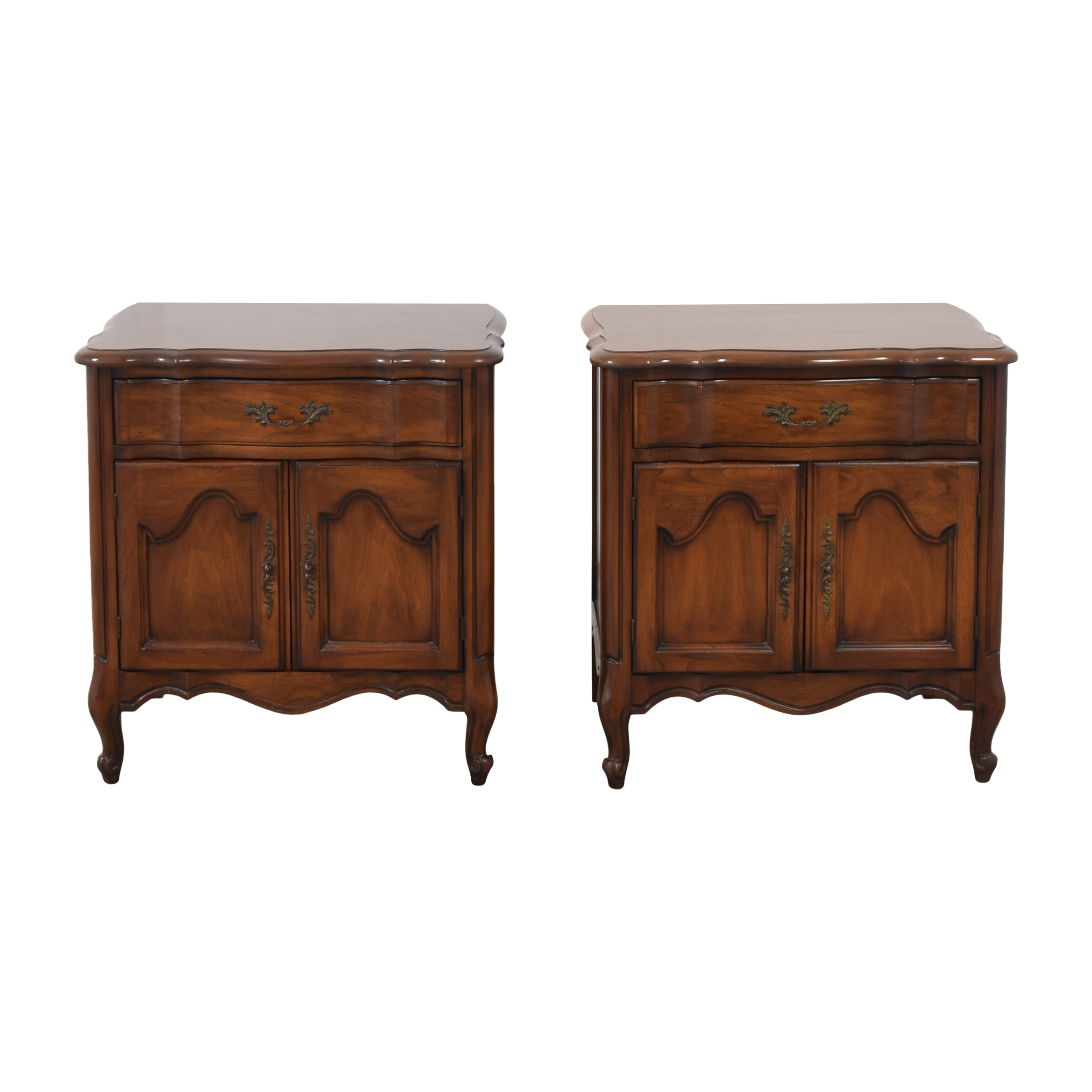 White Fine Furniture White Fine Furniture French Provincial Nightstands Tables